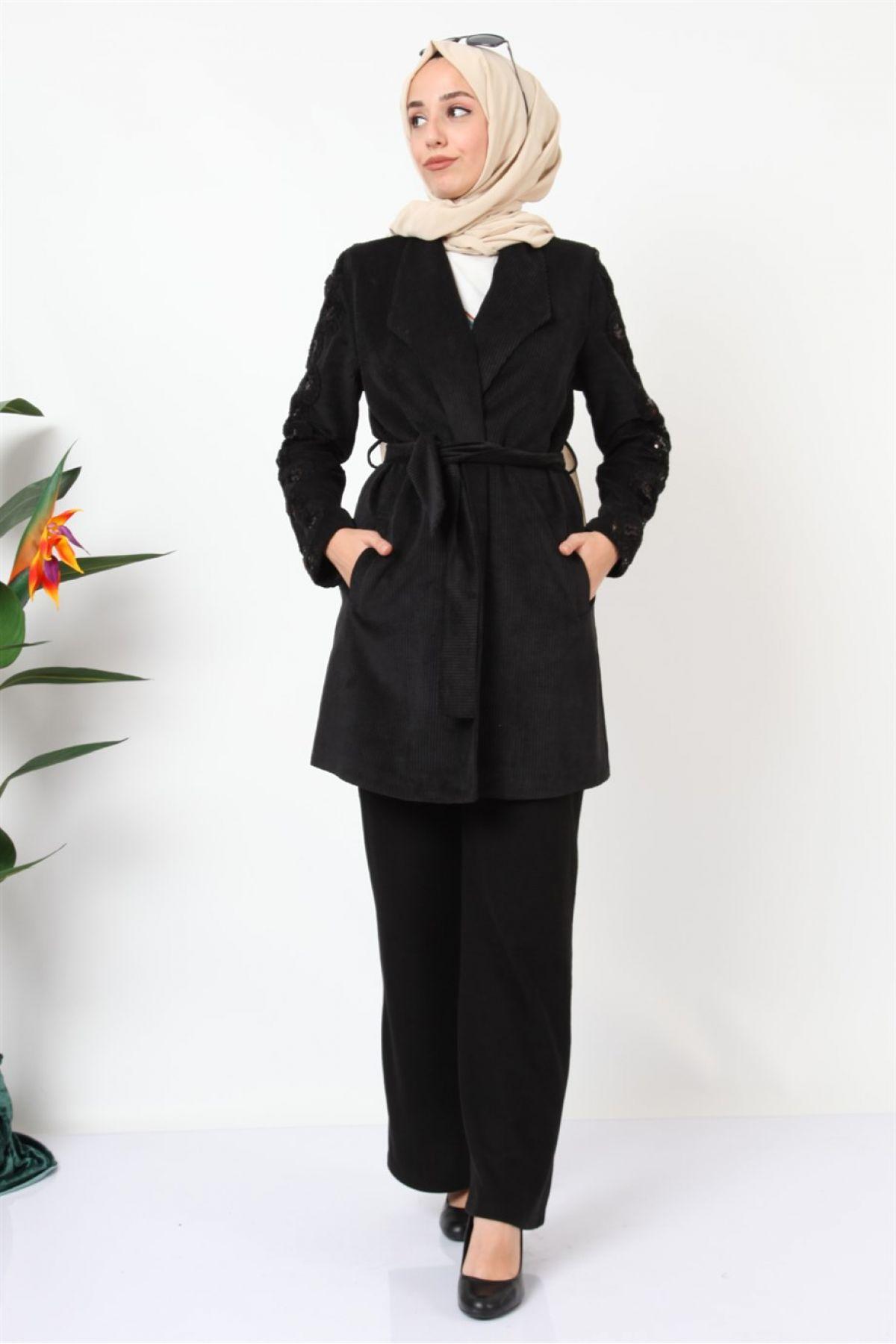 Jacket and Pants-Black