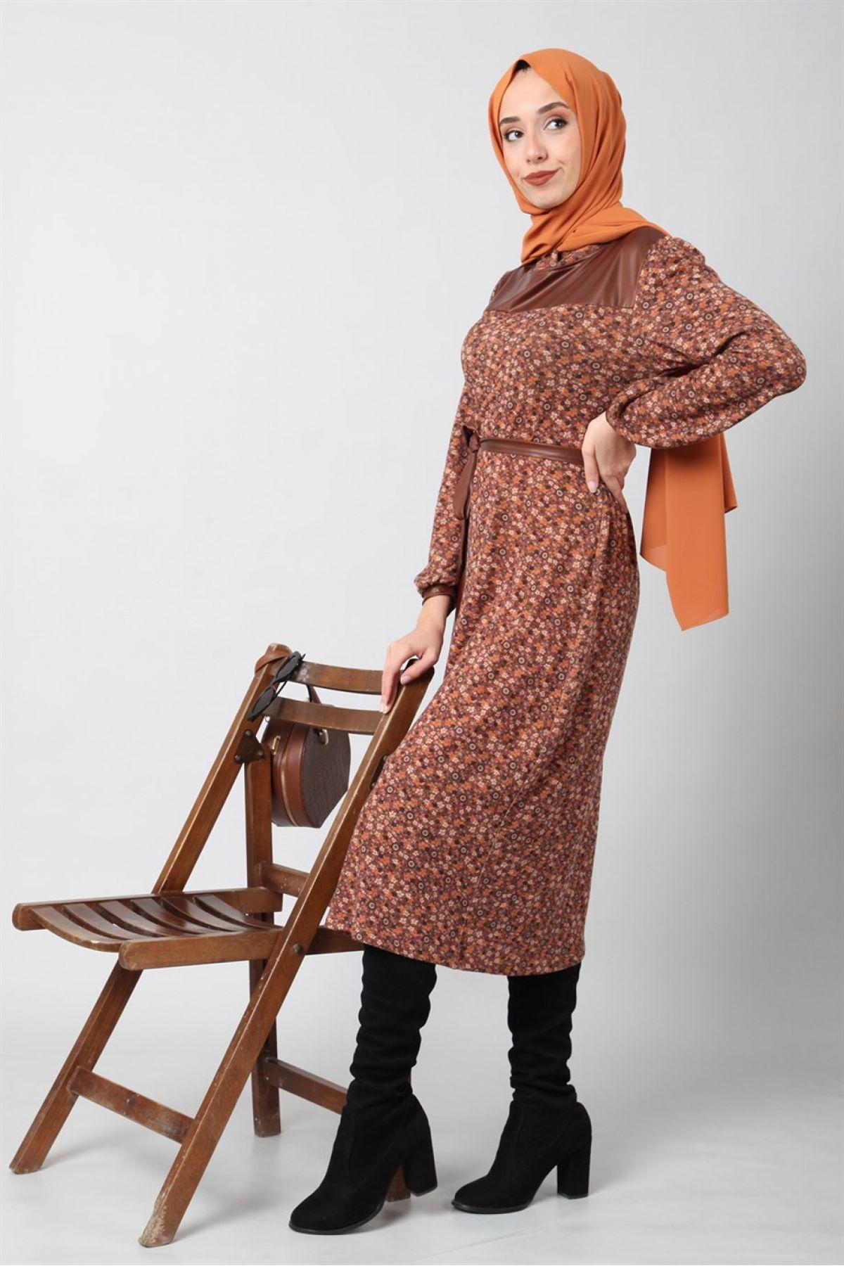 Dresses-Brown