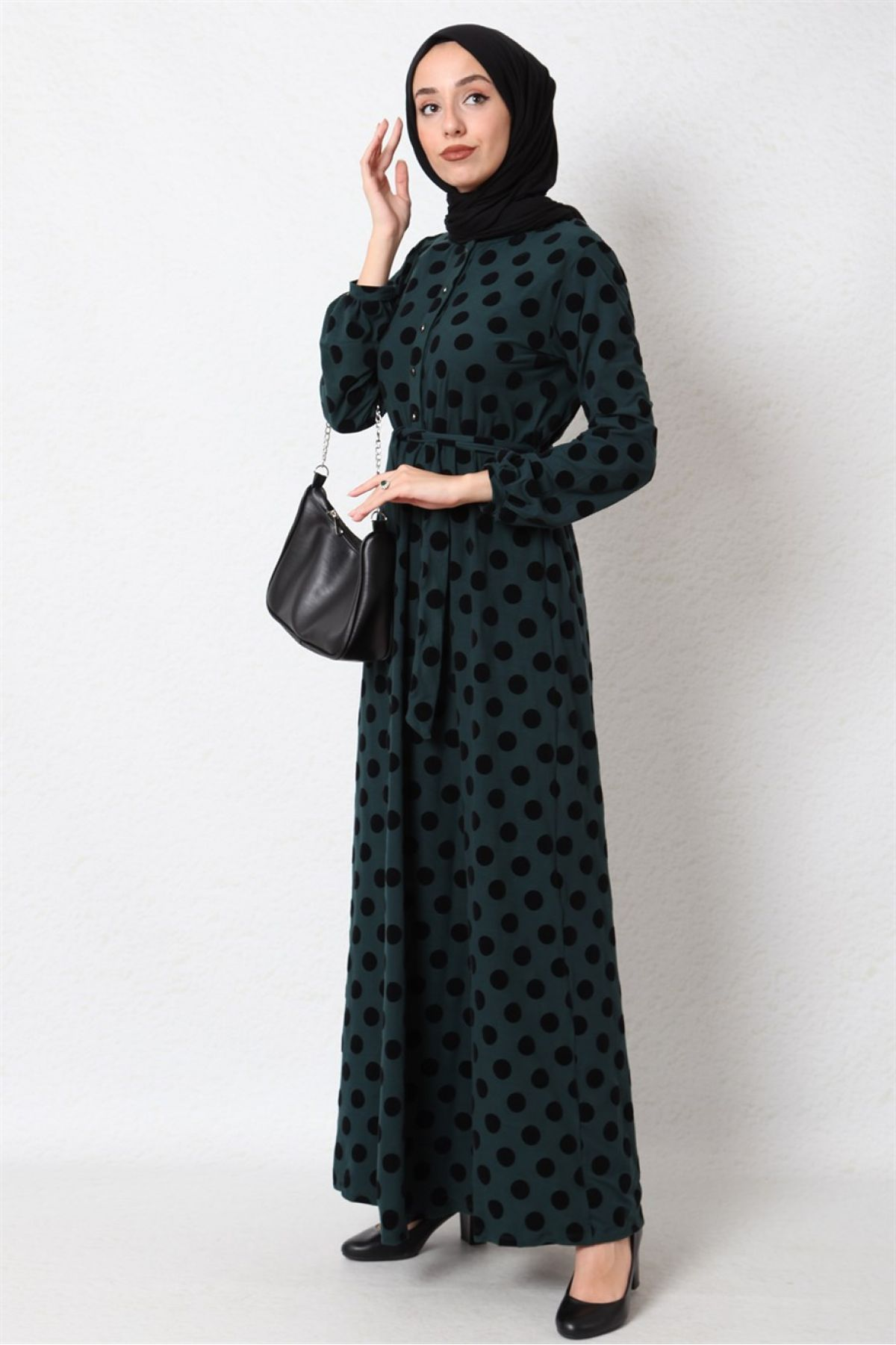 Casual Long Dresses-Green