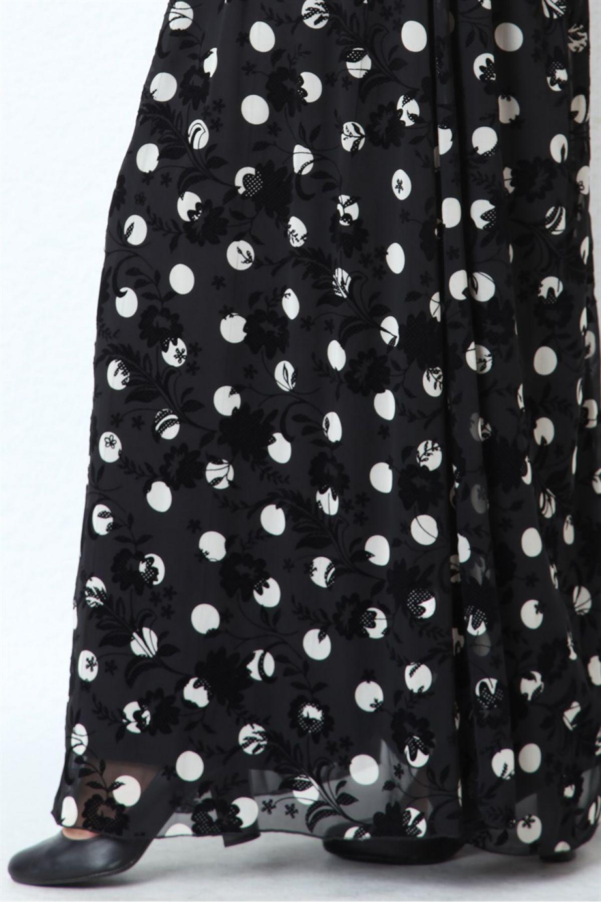 Casual Long Dresses-Black