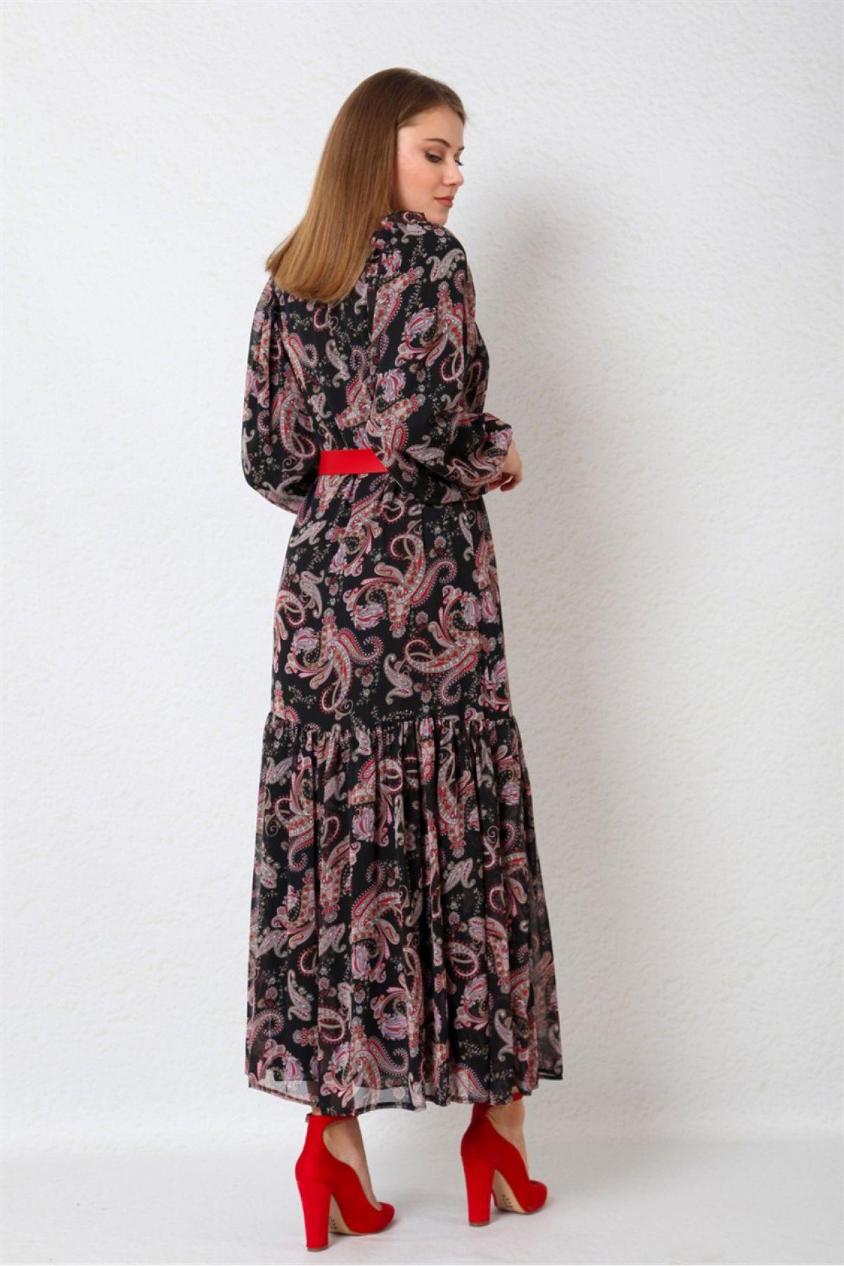 Casual Long Dresses-Multi color