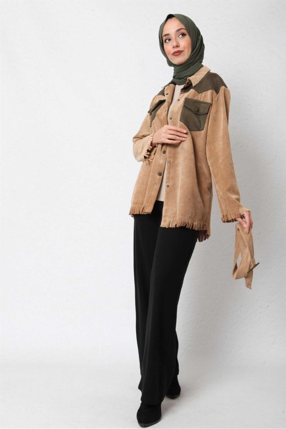 Casual Jacket-Light Brown