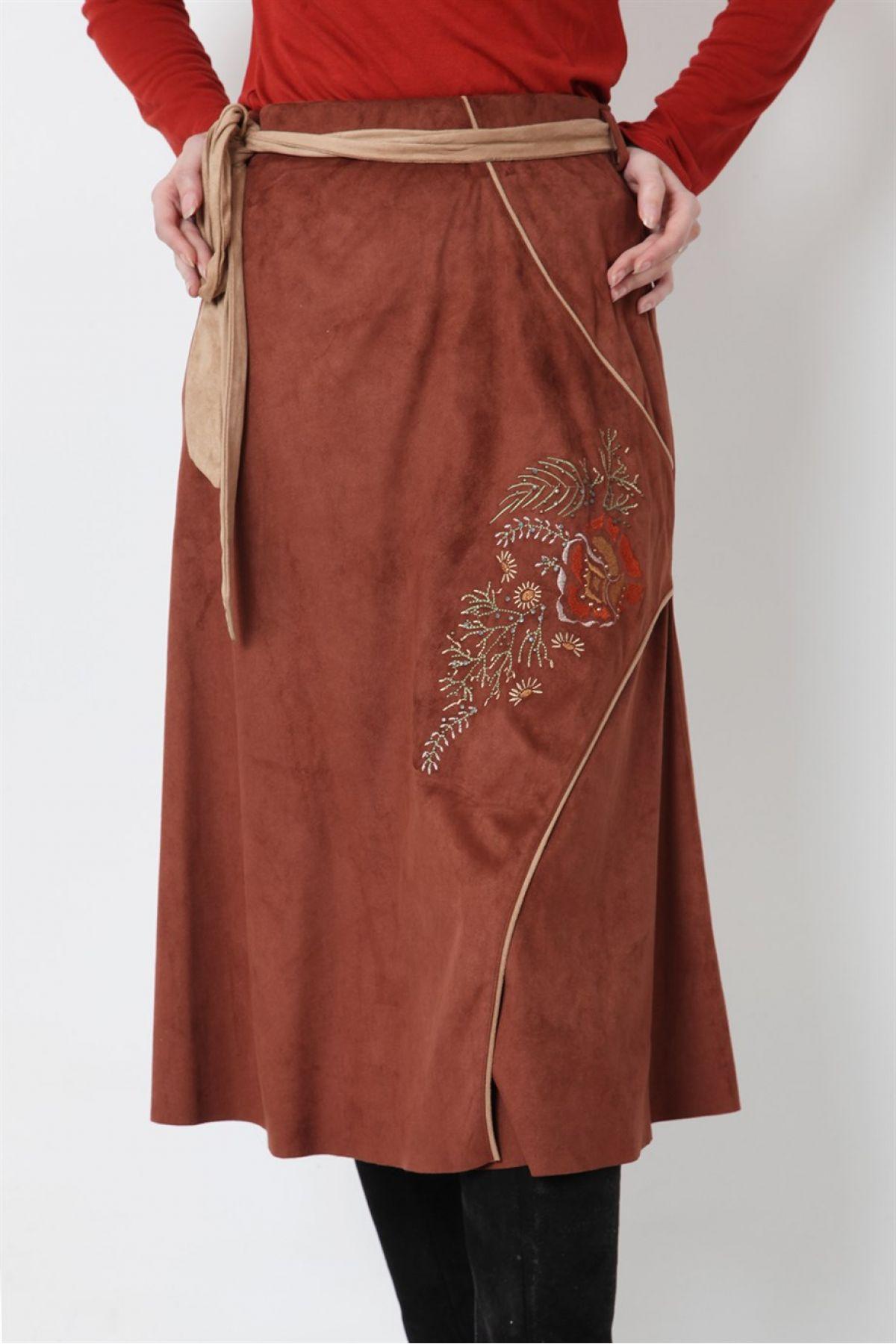 Long Skirts-Terracotta