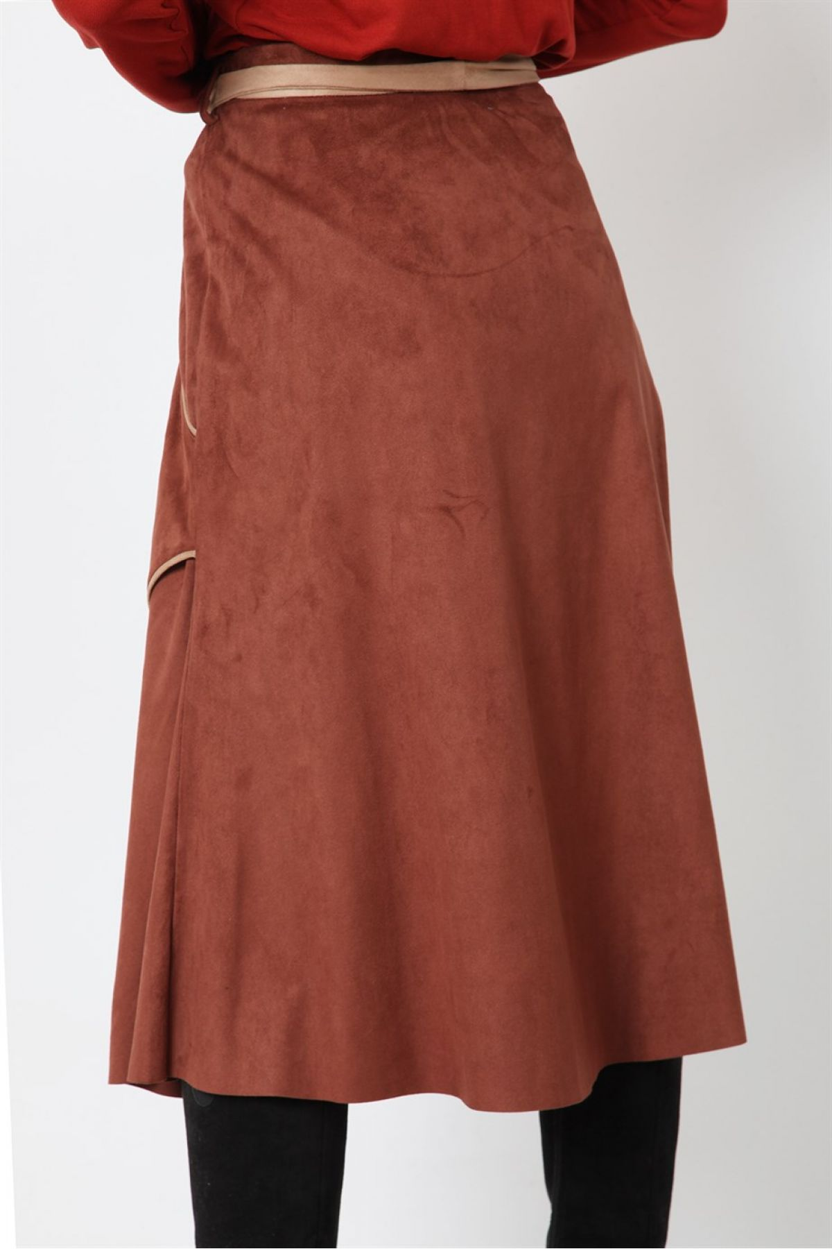 Long Skirts-Terracotta