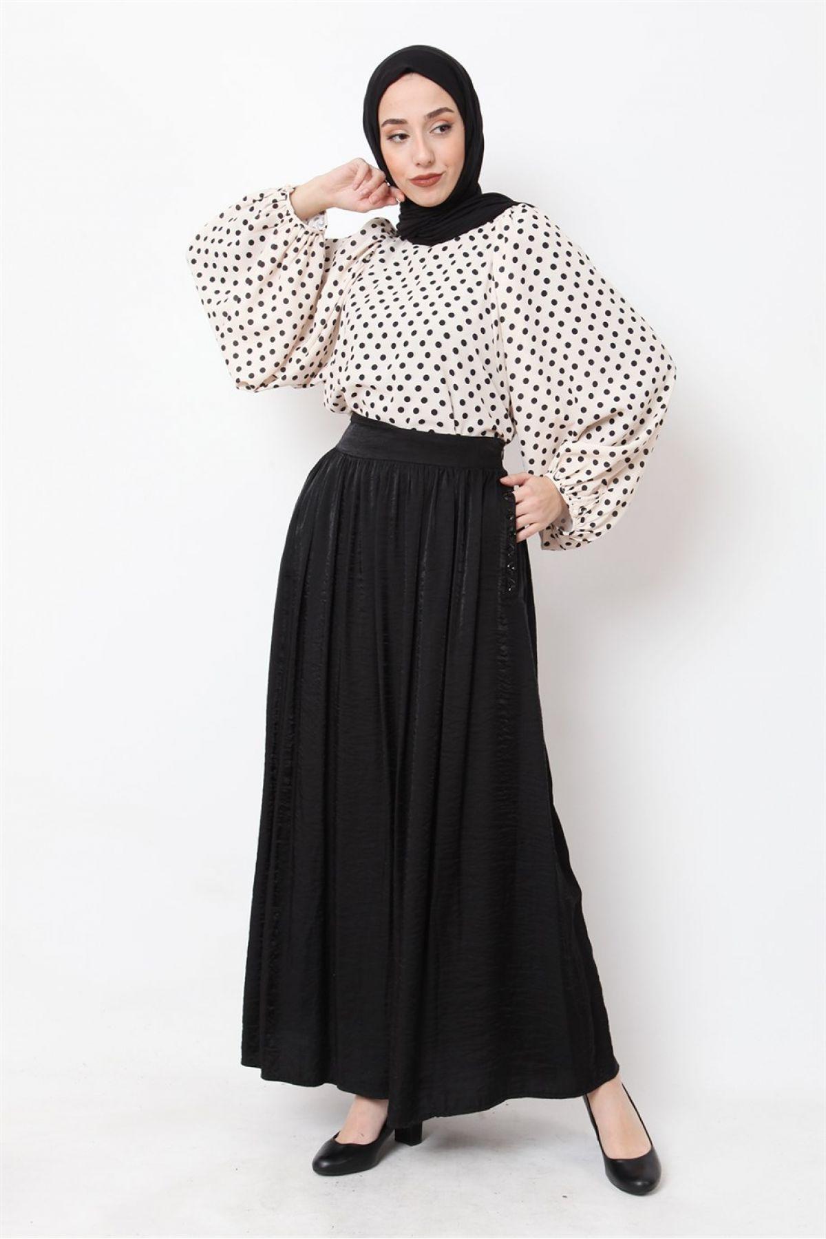 Long Skirts-Black