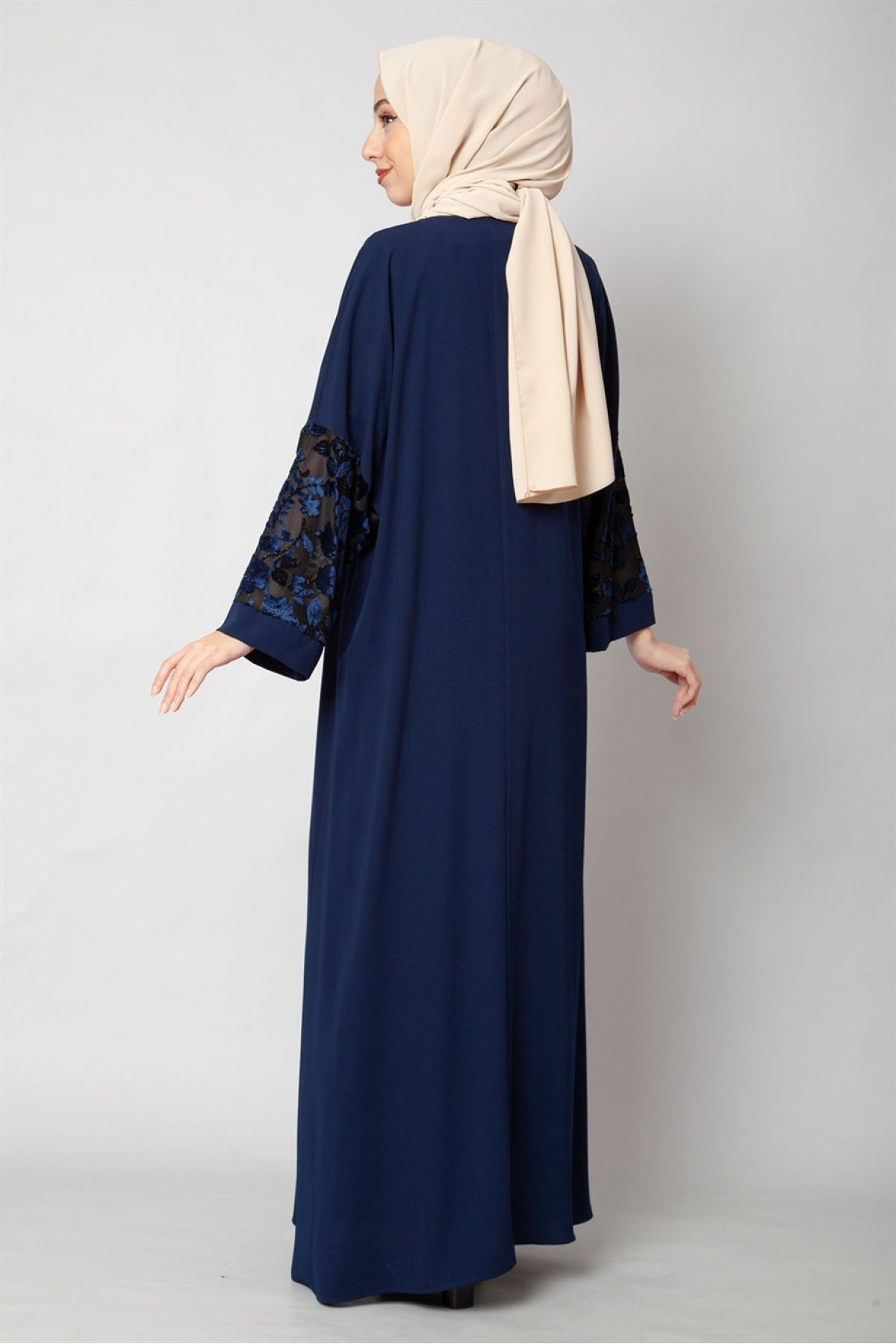 Evening Dress-Dark Blue