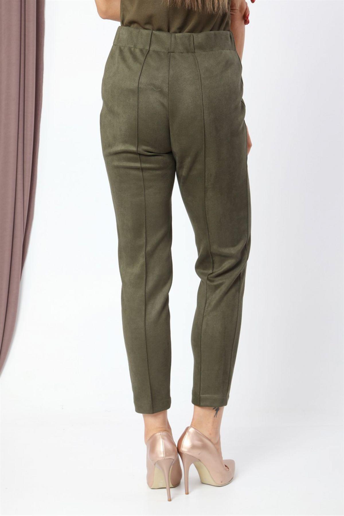 Leggings-Khaki