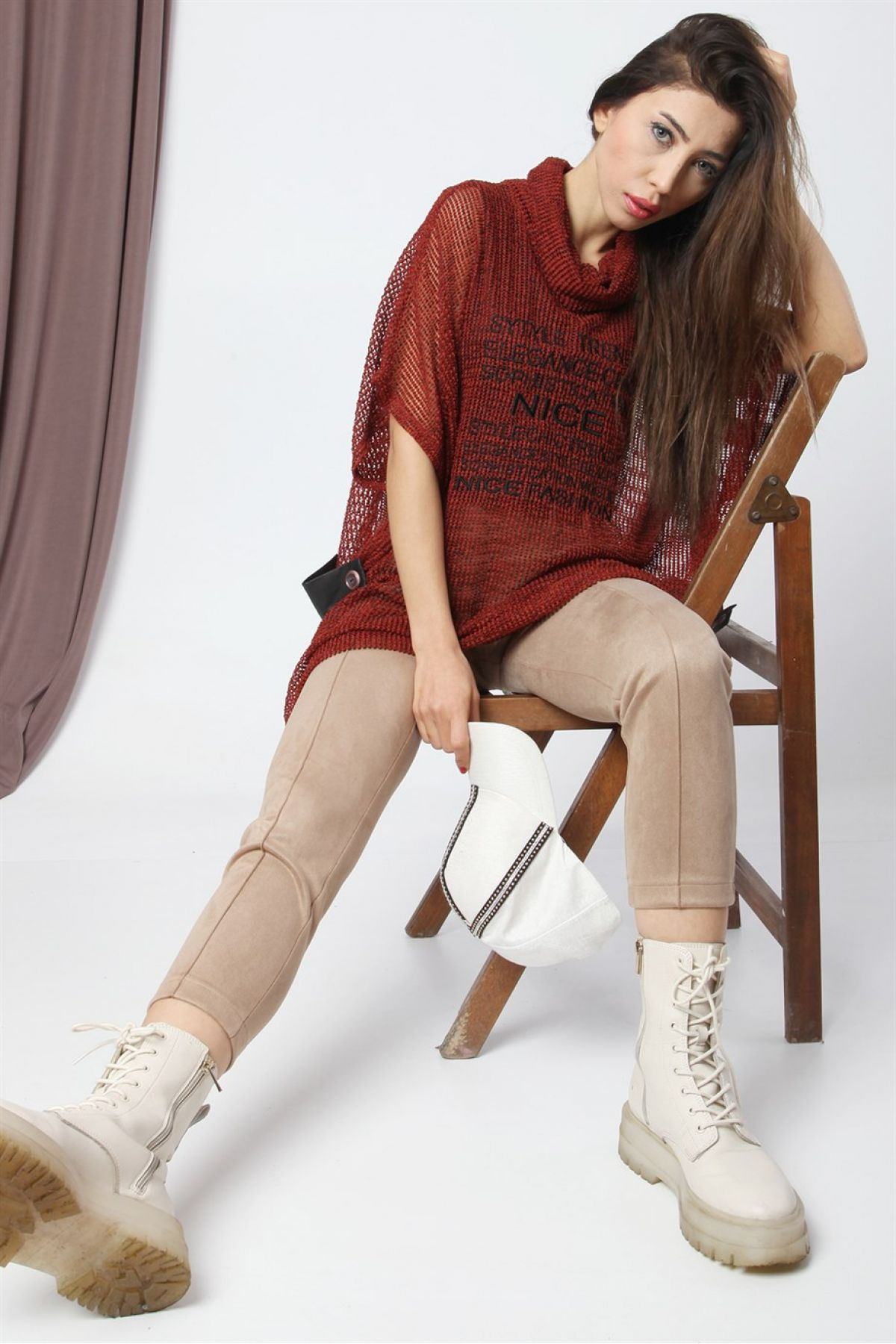 T-Shirt-Brown