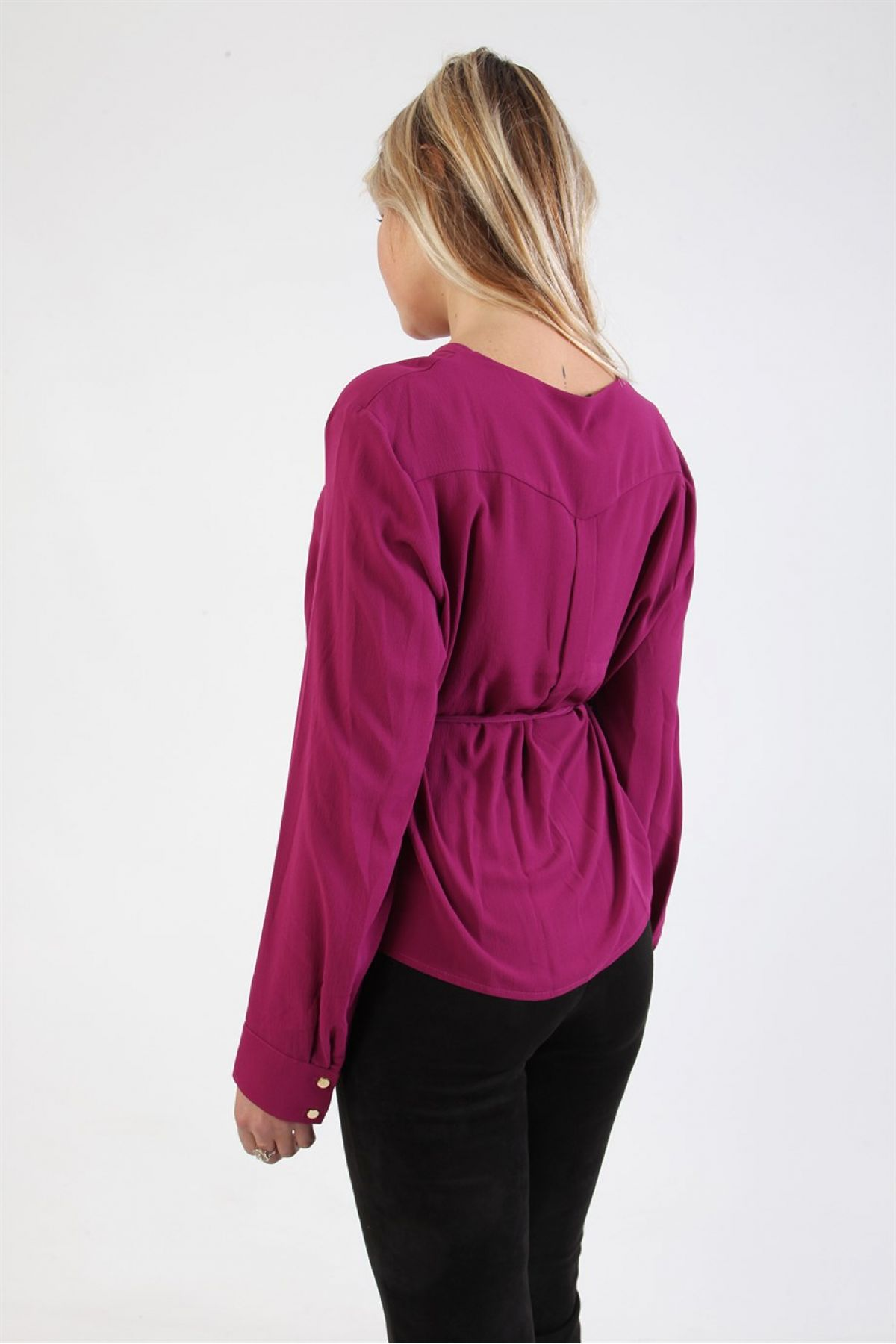 Blouses-Purple