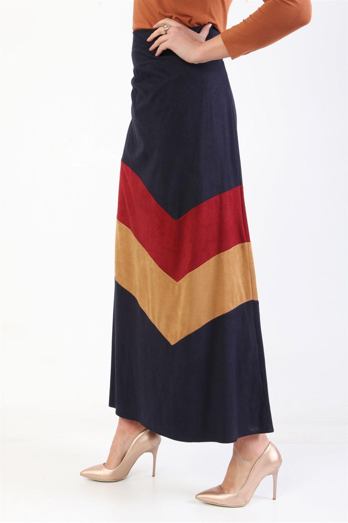 Long Skirts-Dark Blue