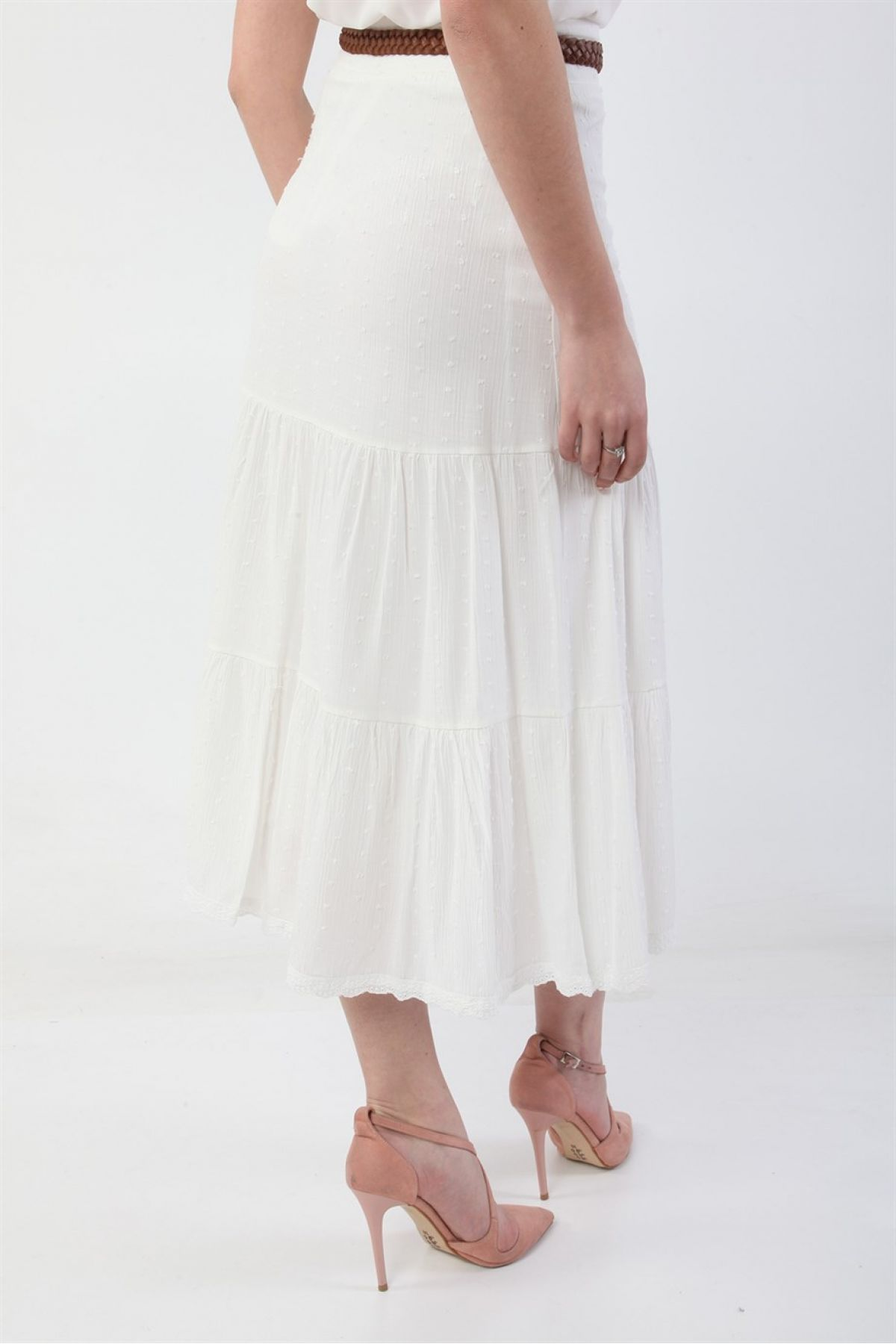 Long Skirts-White