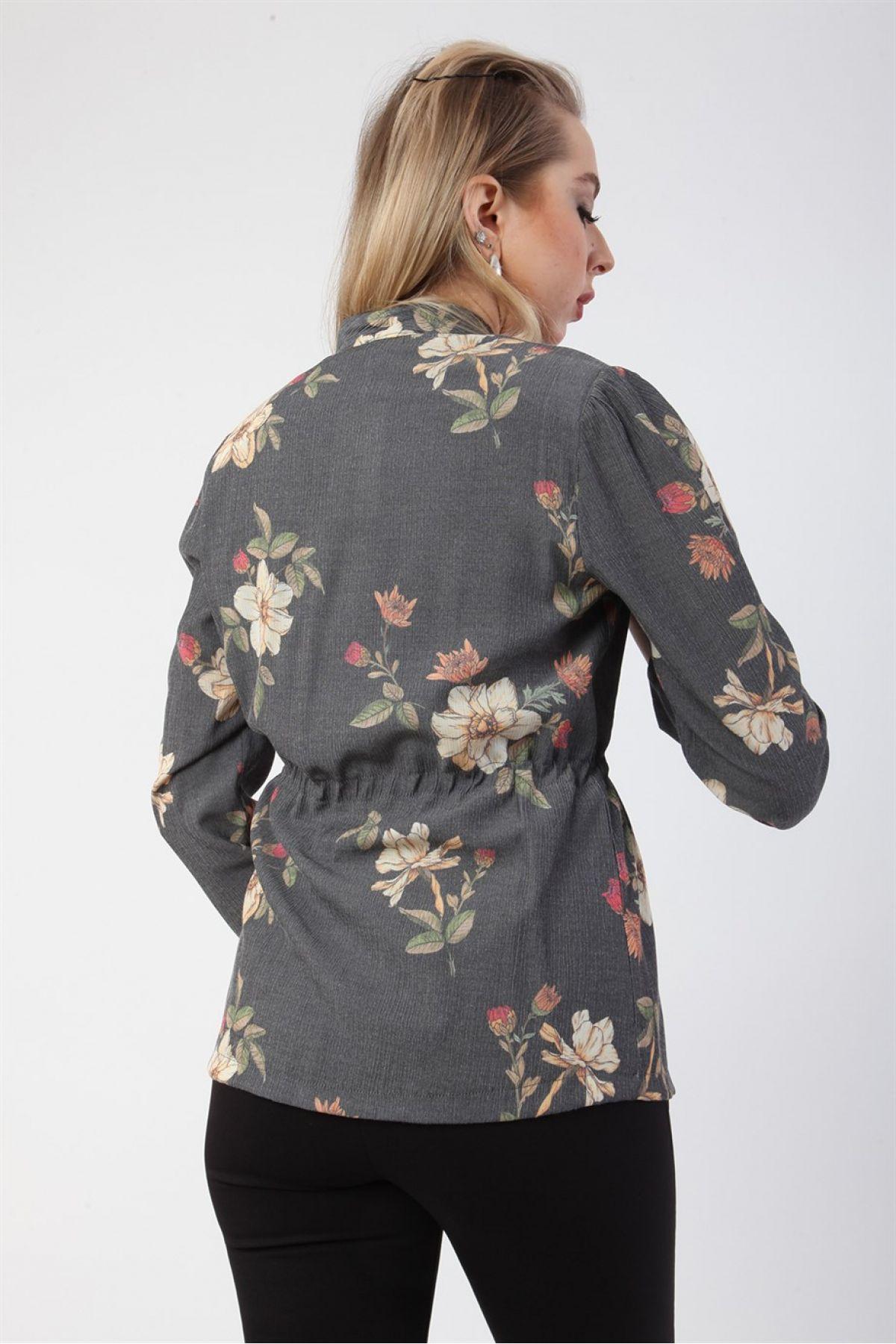 Casual Jacket-Grey