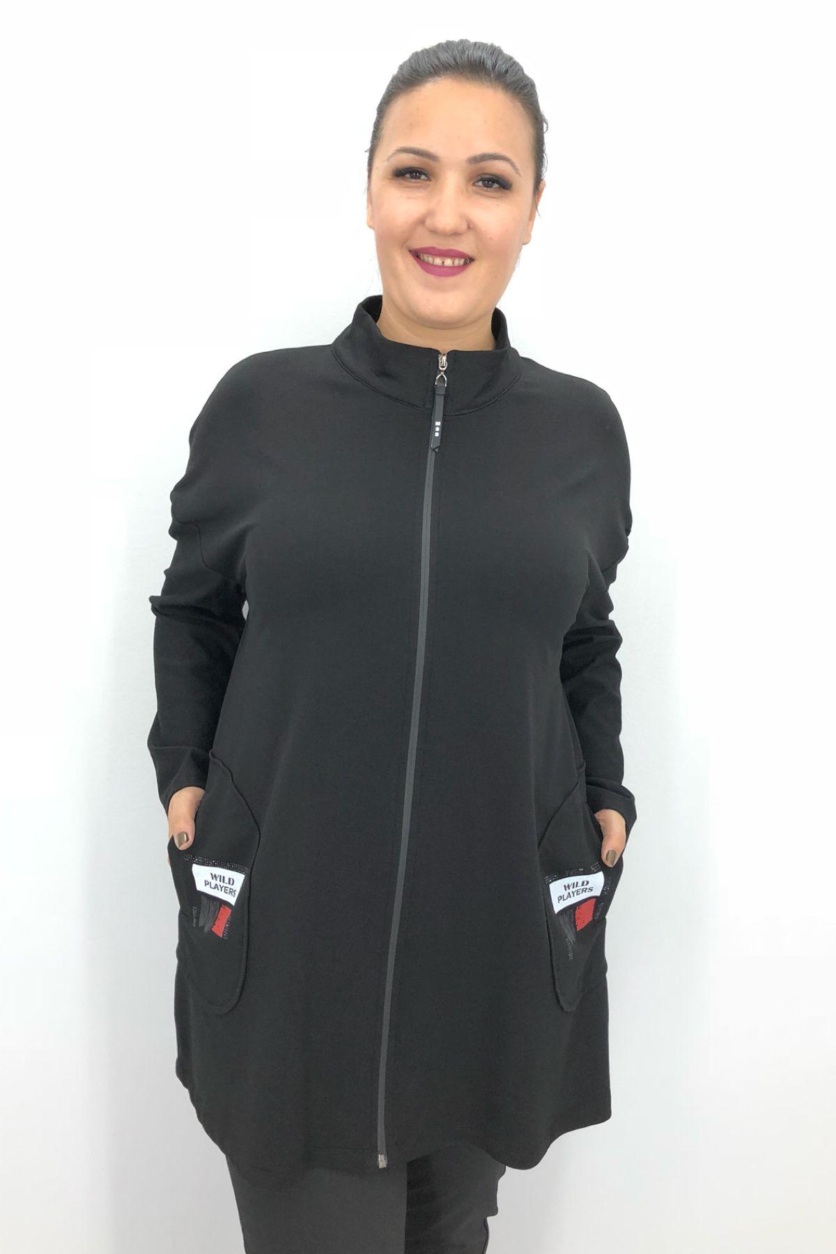 Casual Jacket-Black