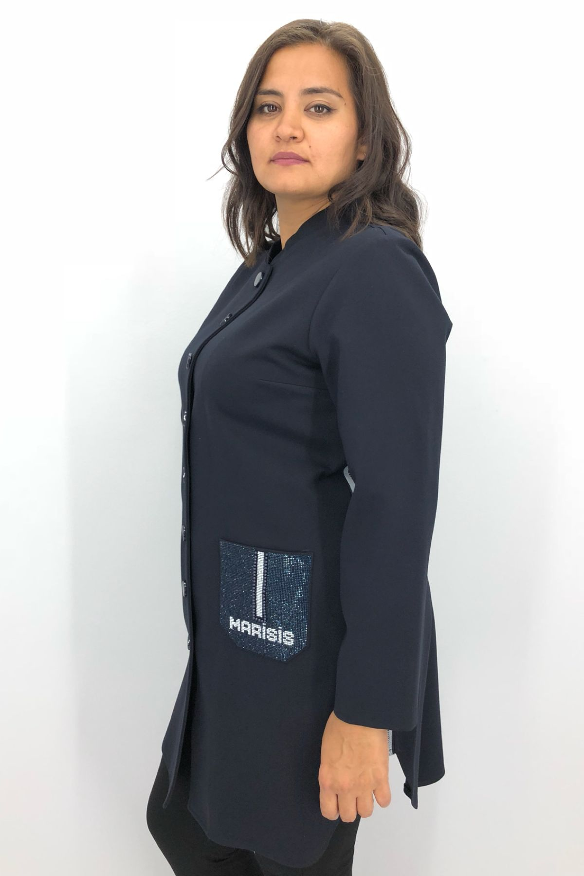 Casual Jacket-Dark Blue