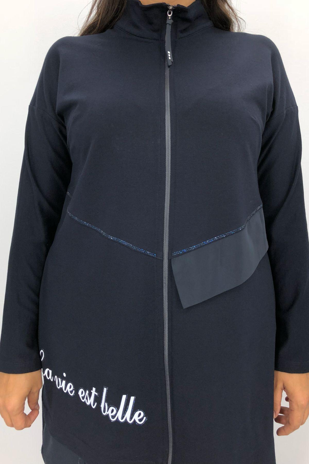 Casual Jacket-Dark Blue
