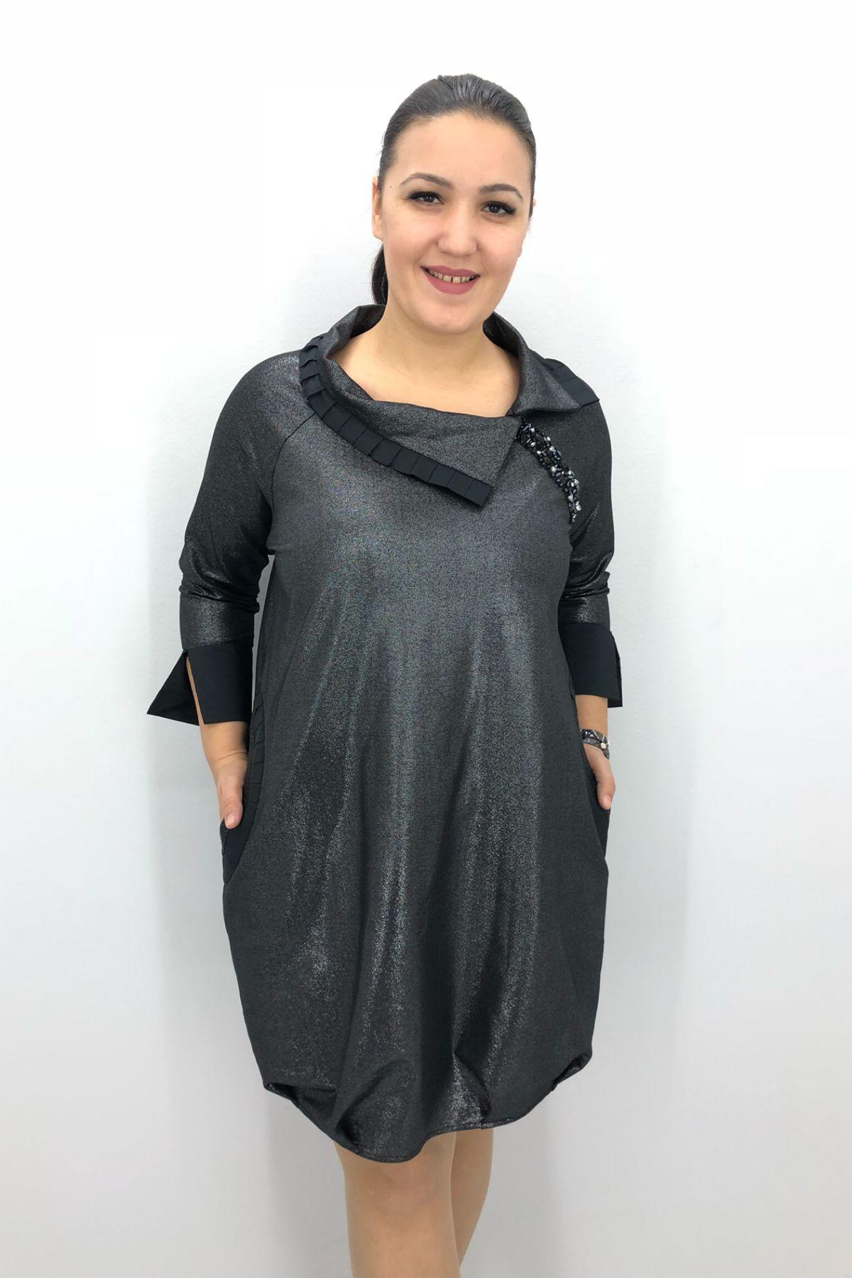 Day Dresses Medium-Anthracite