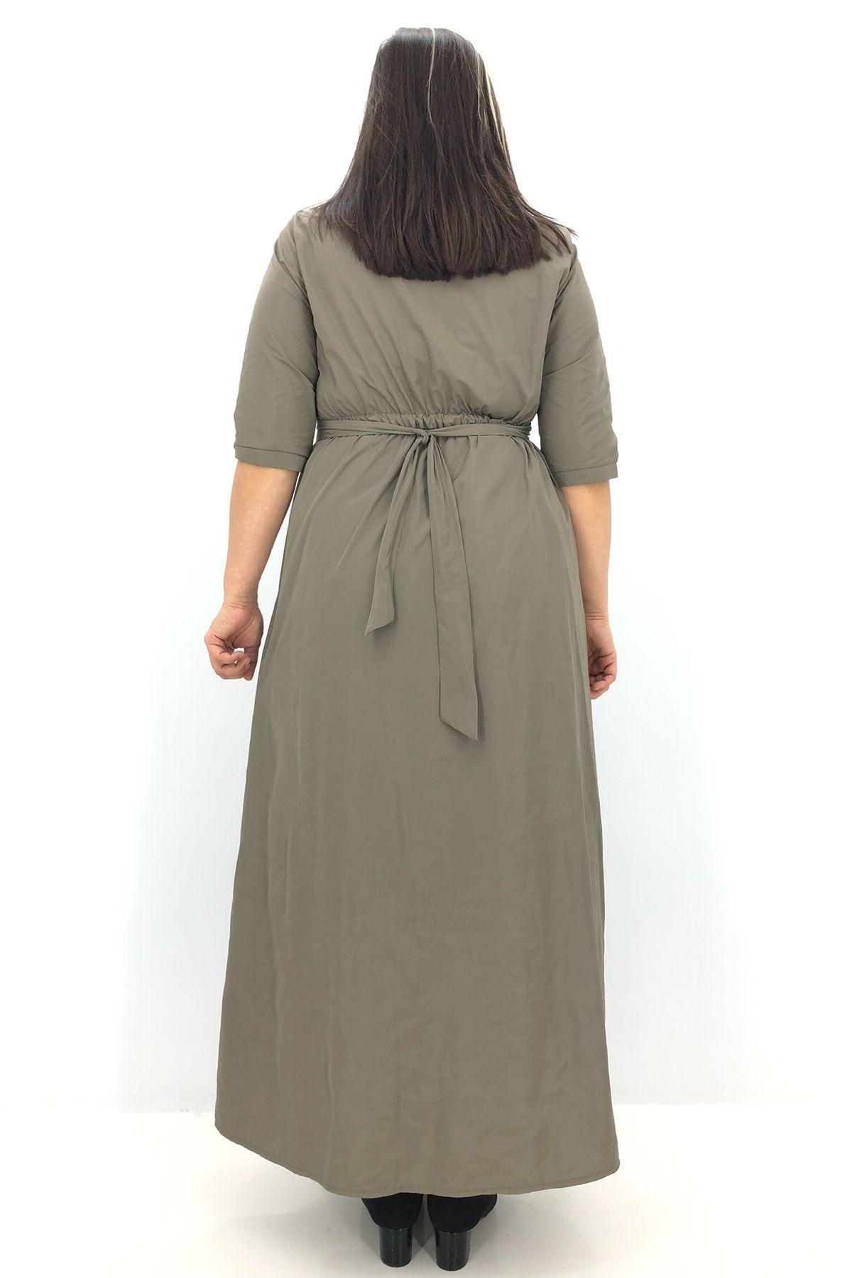 Day Dresses Long-Mink