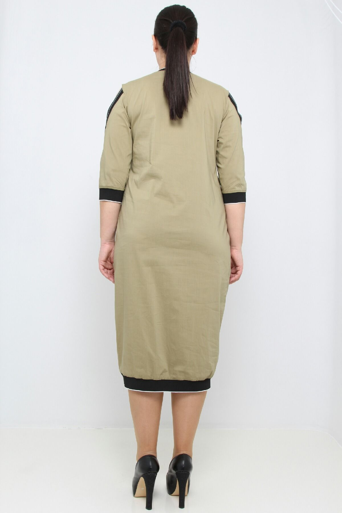 Day Dresses Medium-olive-drab