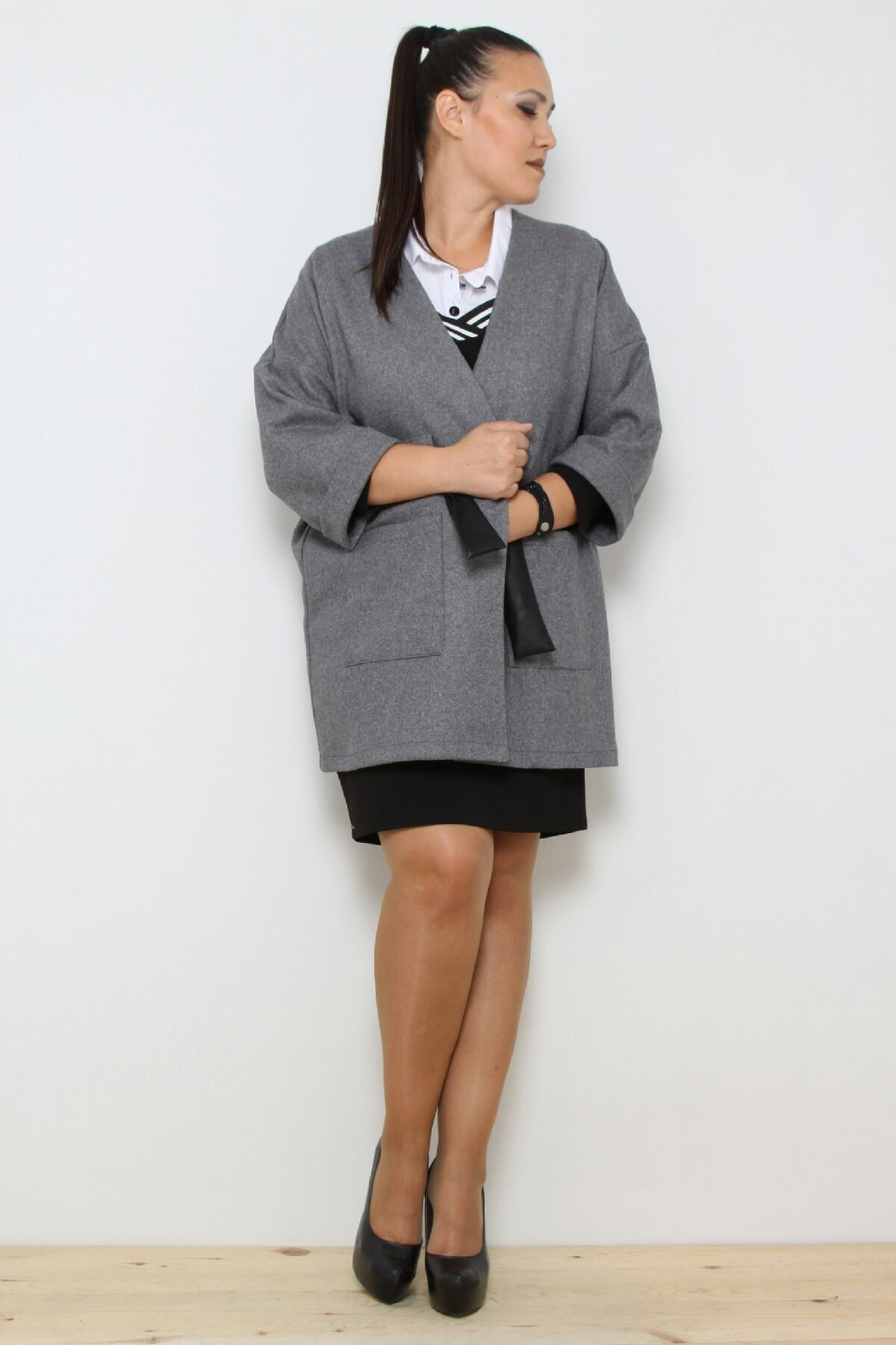 Coats-Light Grey
