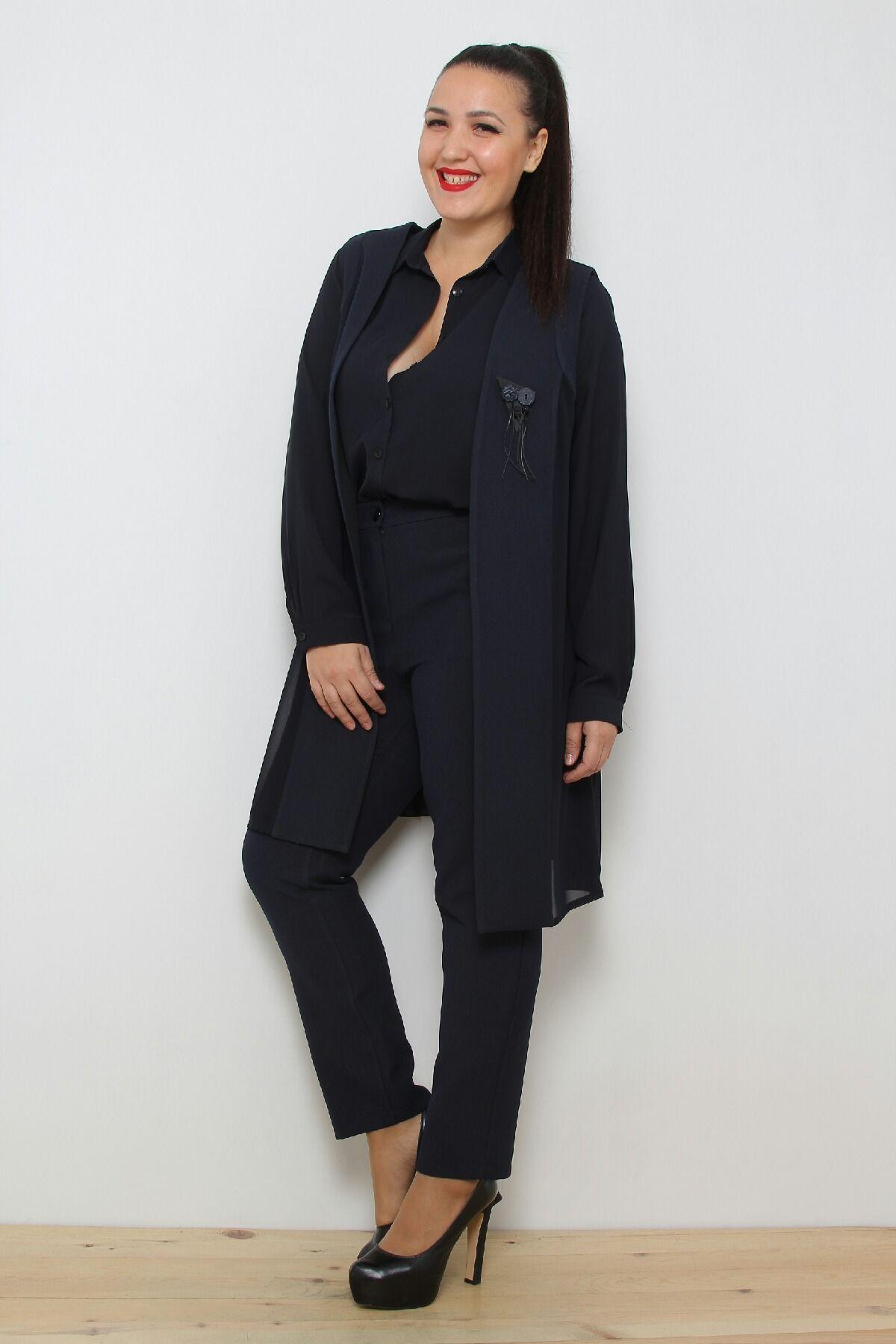 Two-Piece Suit-Dark Blue