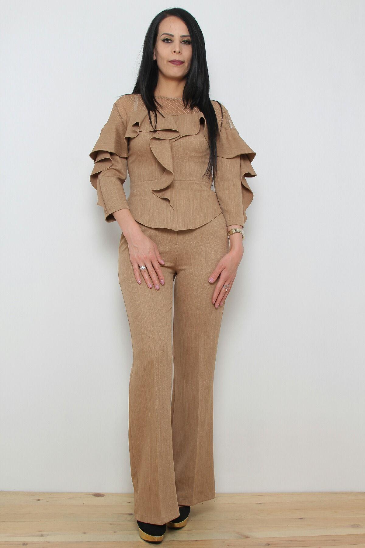 Two-Piece Suit-Camel