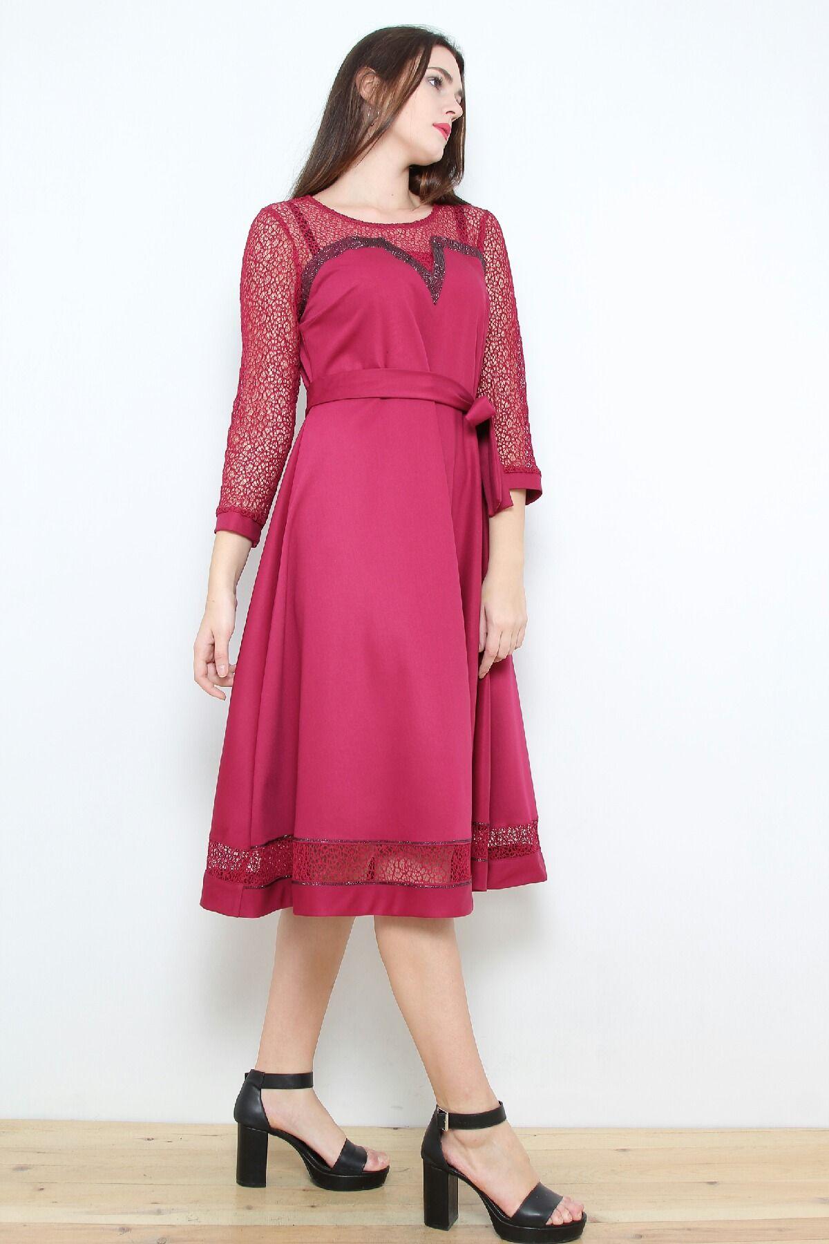 Day Dresses Medium-Purple