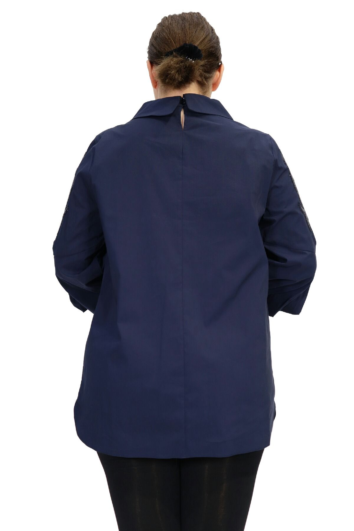 Blouses-Dark Blue