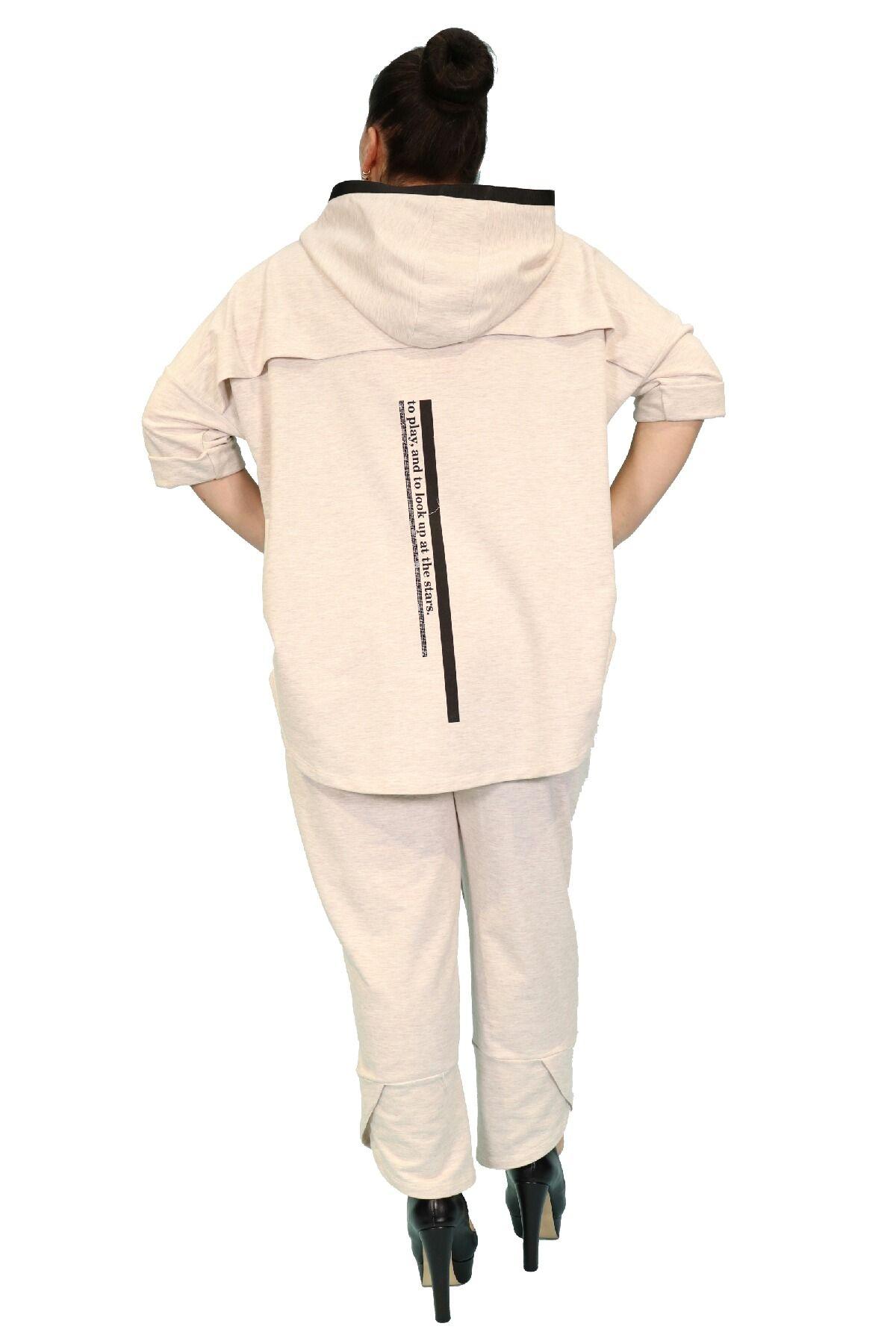 Two-Piece Suit-Ecru