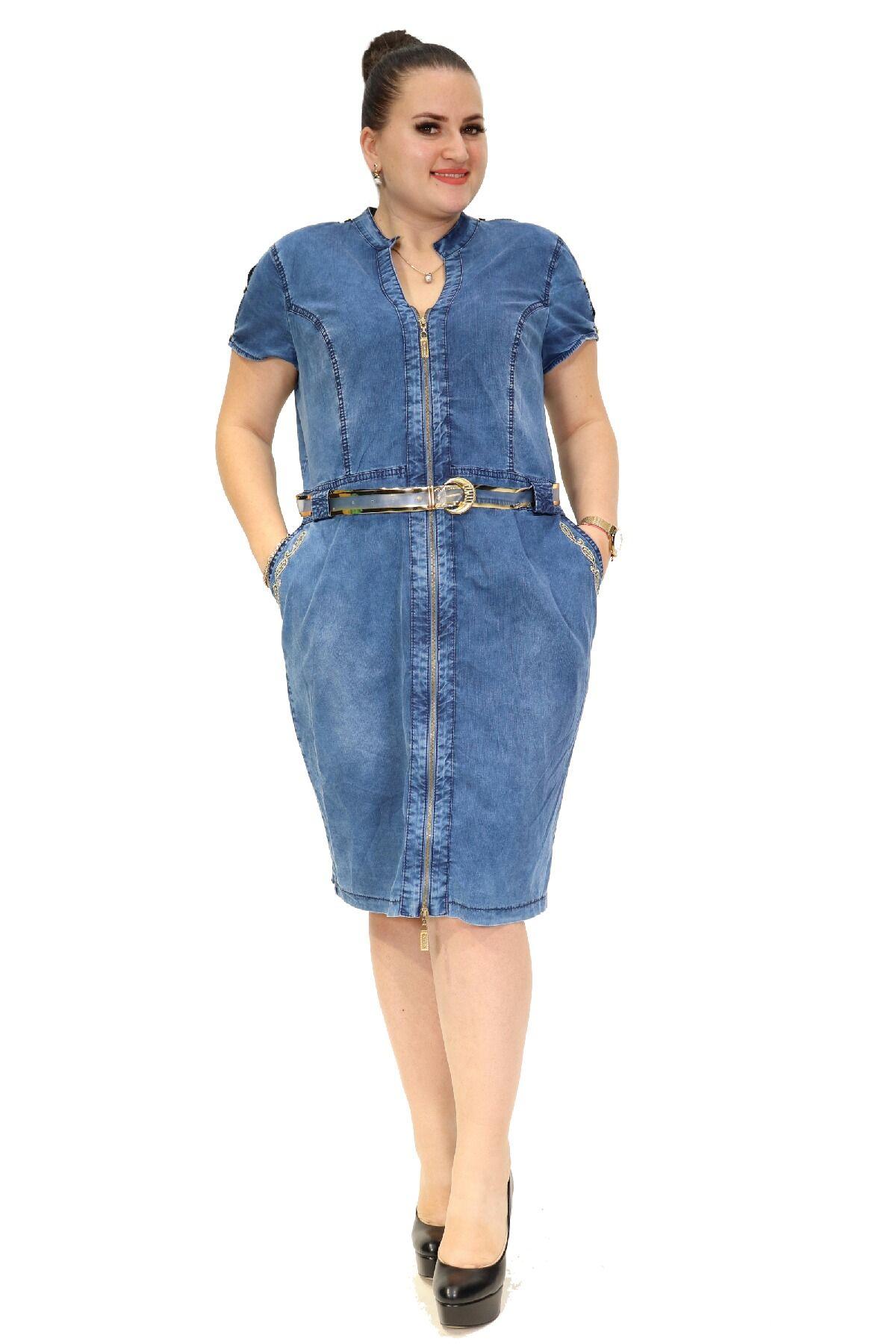 Day Dresses Medium-Blue