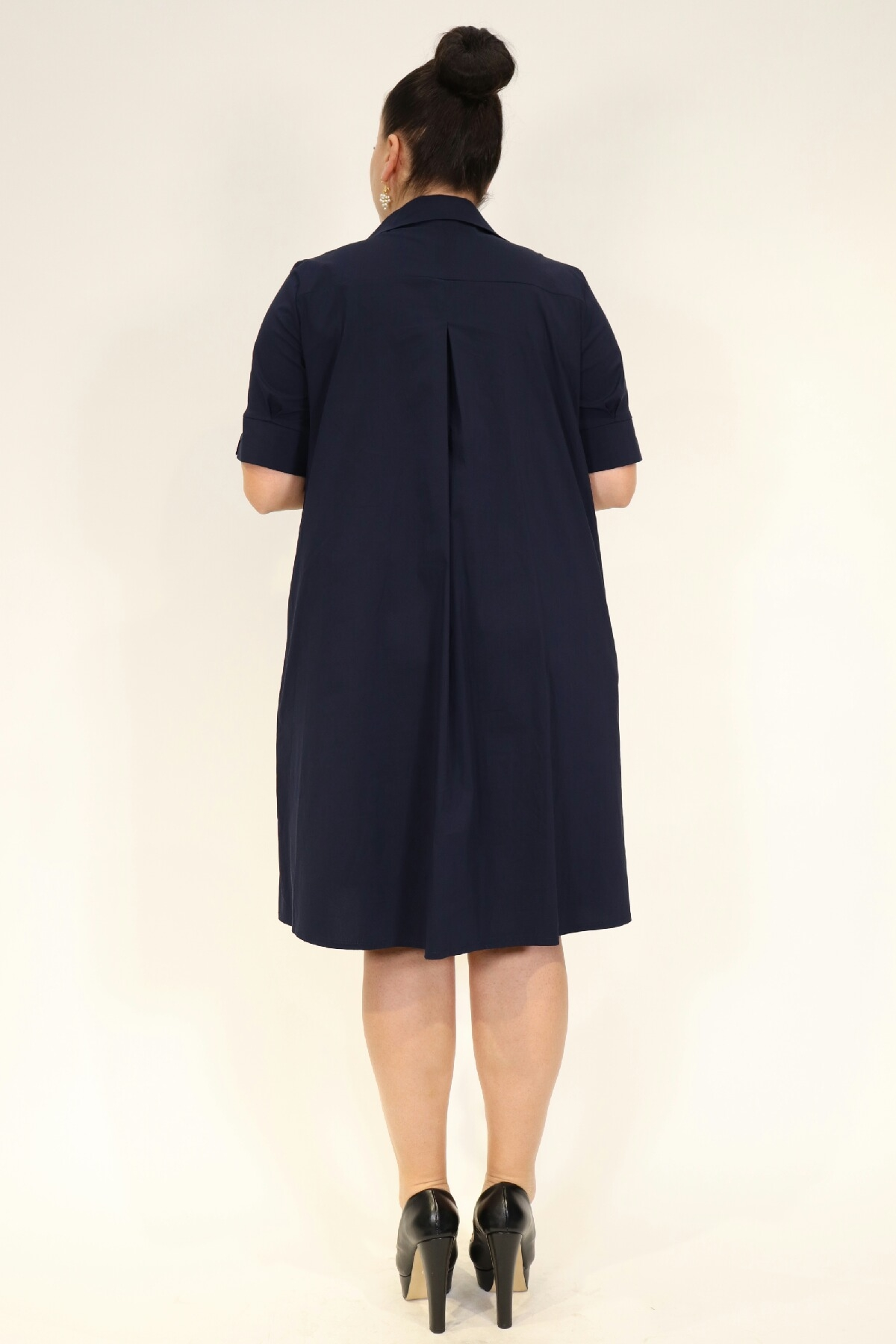 Day Dresses Medium-Dark Blue