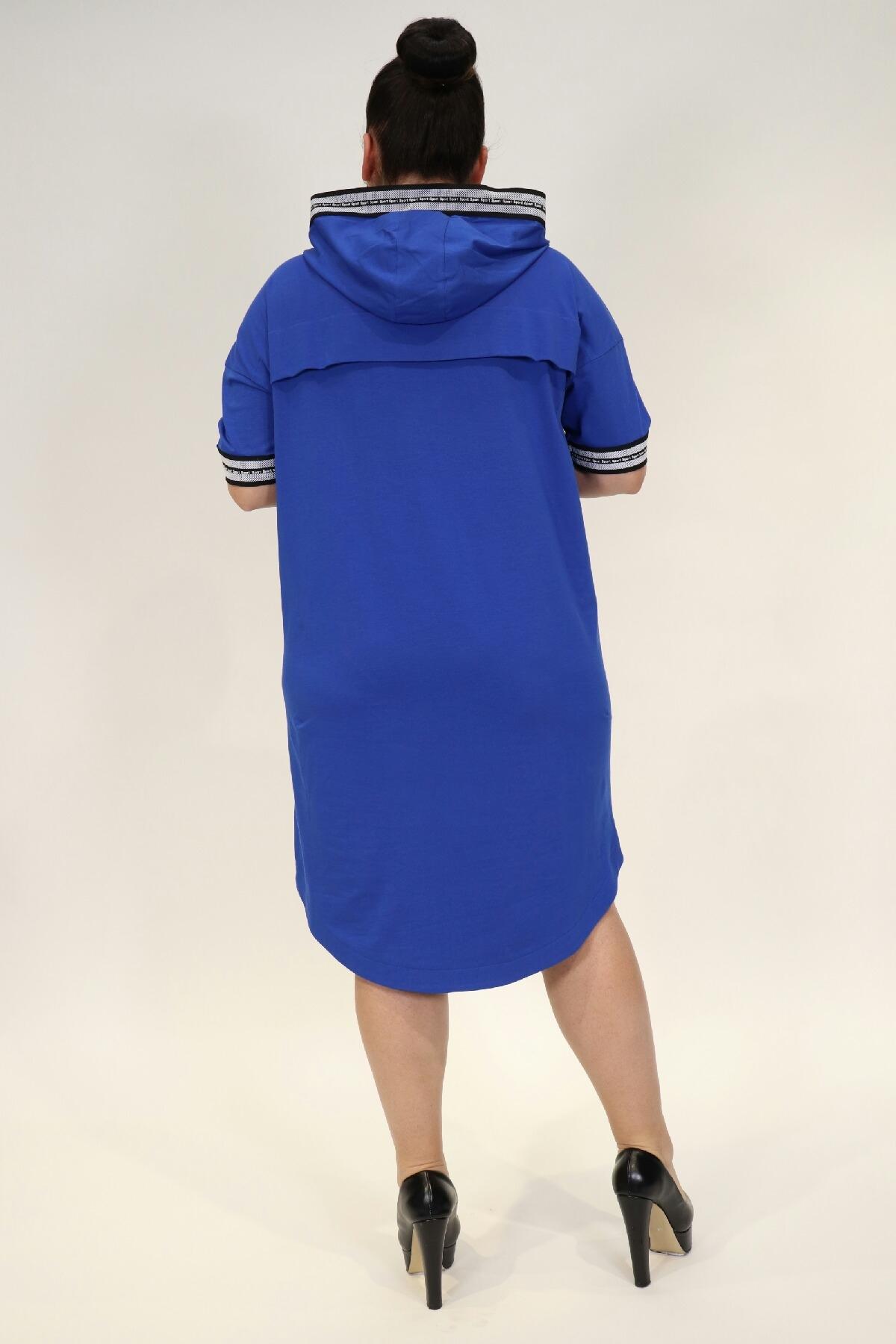 Day Dresses Medium-Bright Blue