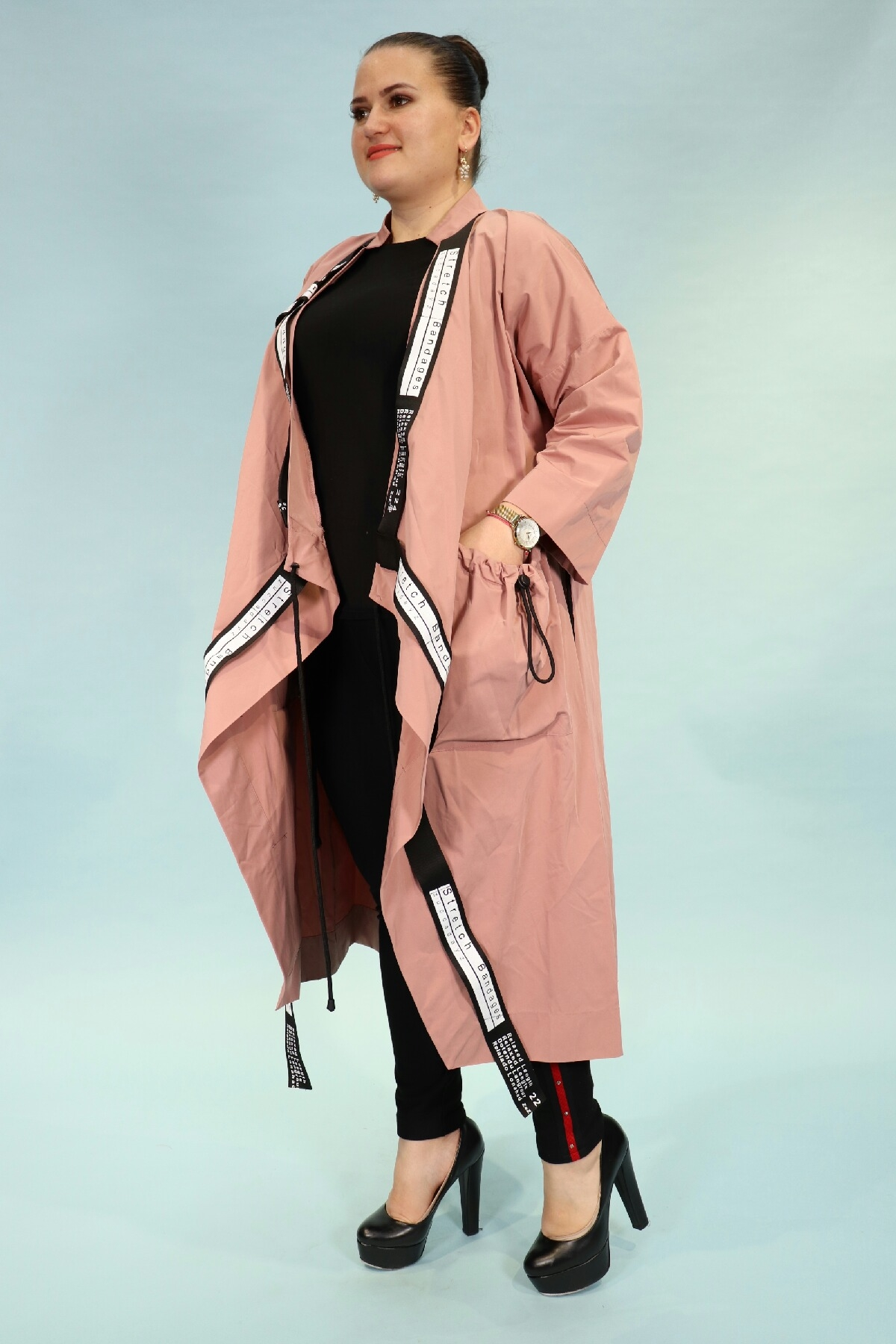 Coats-powder pink