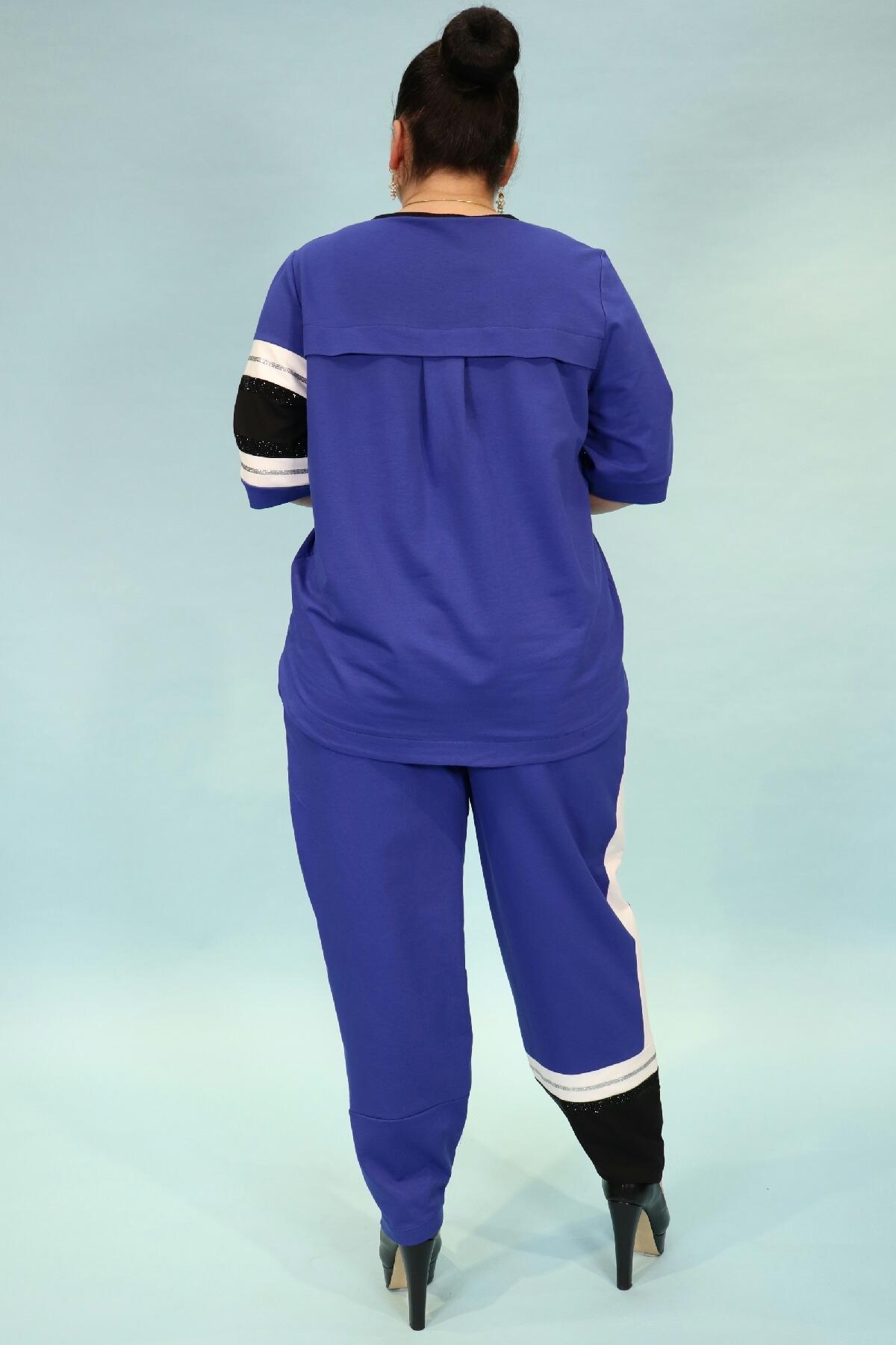 Two-Piece Suit-Bright Blue