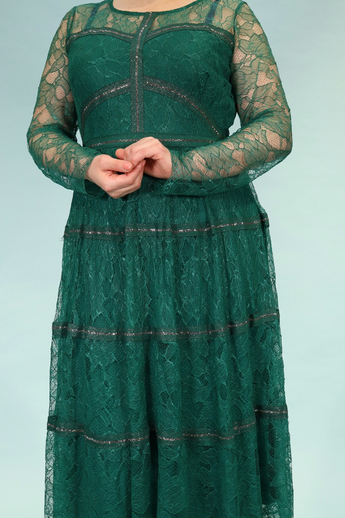 Day Dresses Medium-Green