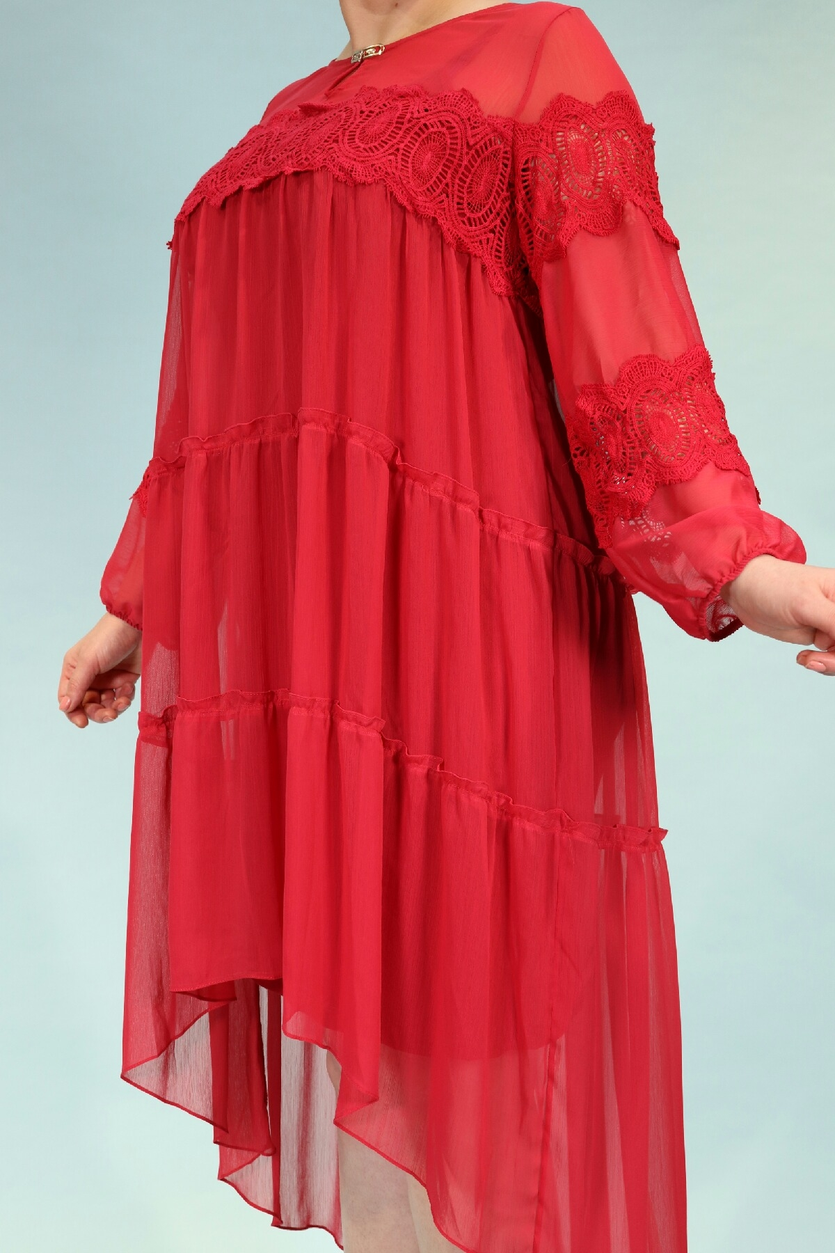 Day Dresses Medium-Fuchsia