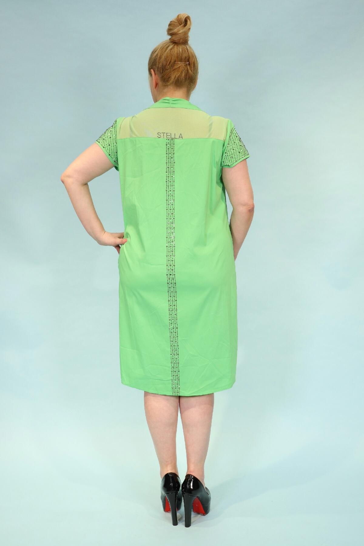Day Dresses Medium-Green
