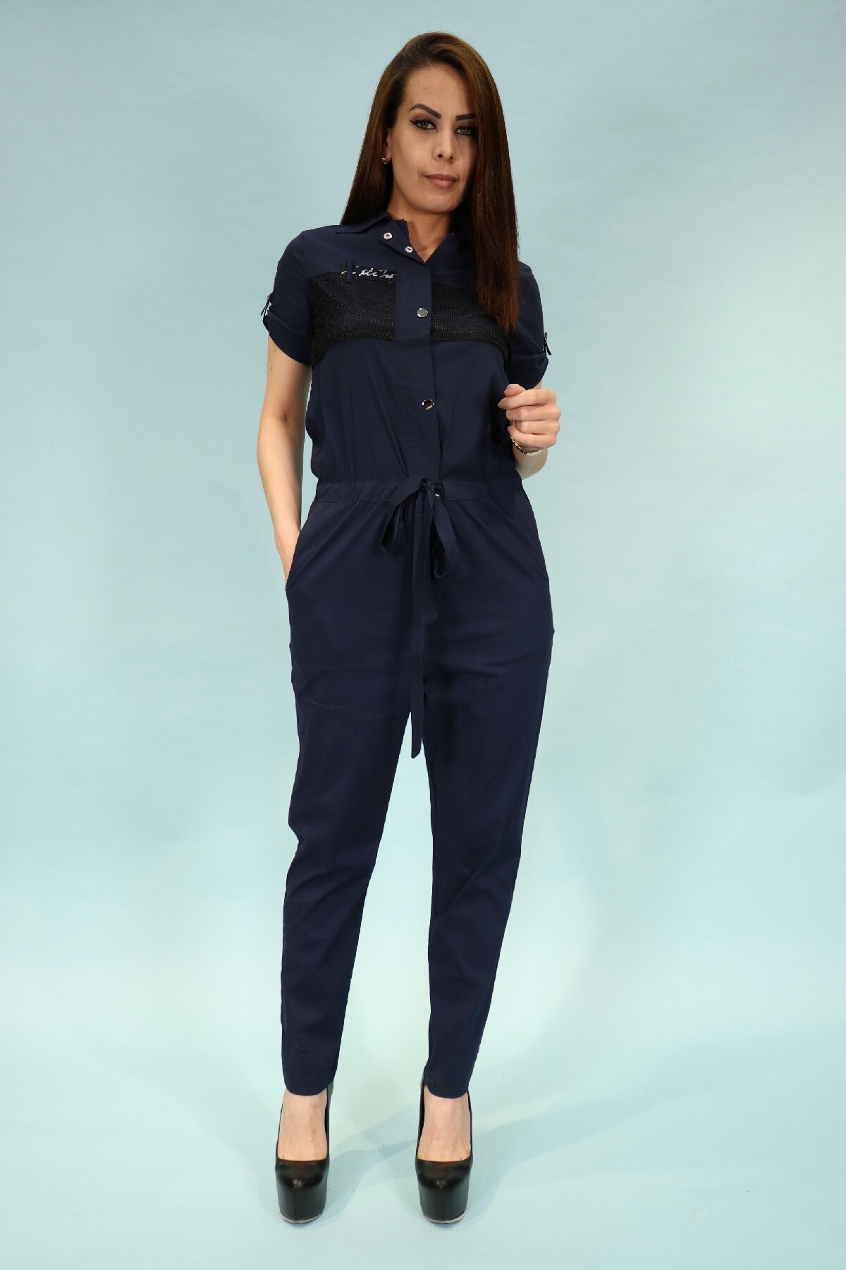 Jumpsuits-Dark Blue