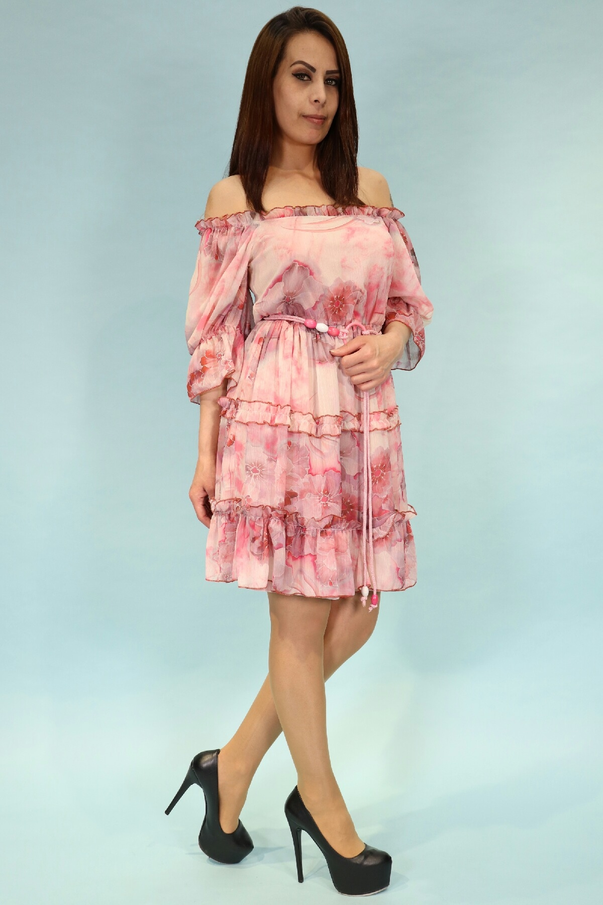 Day Dresses Medium-Pink