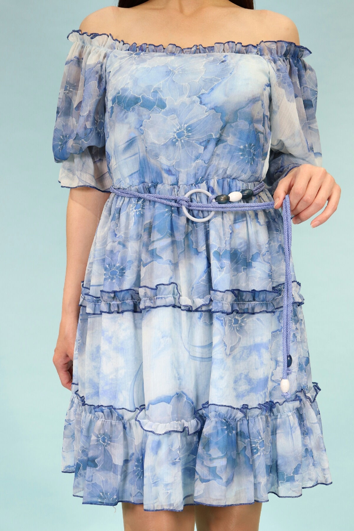 Day Dresses Medium-Blue