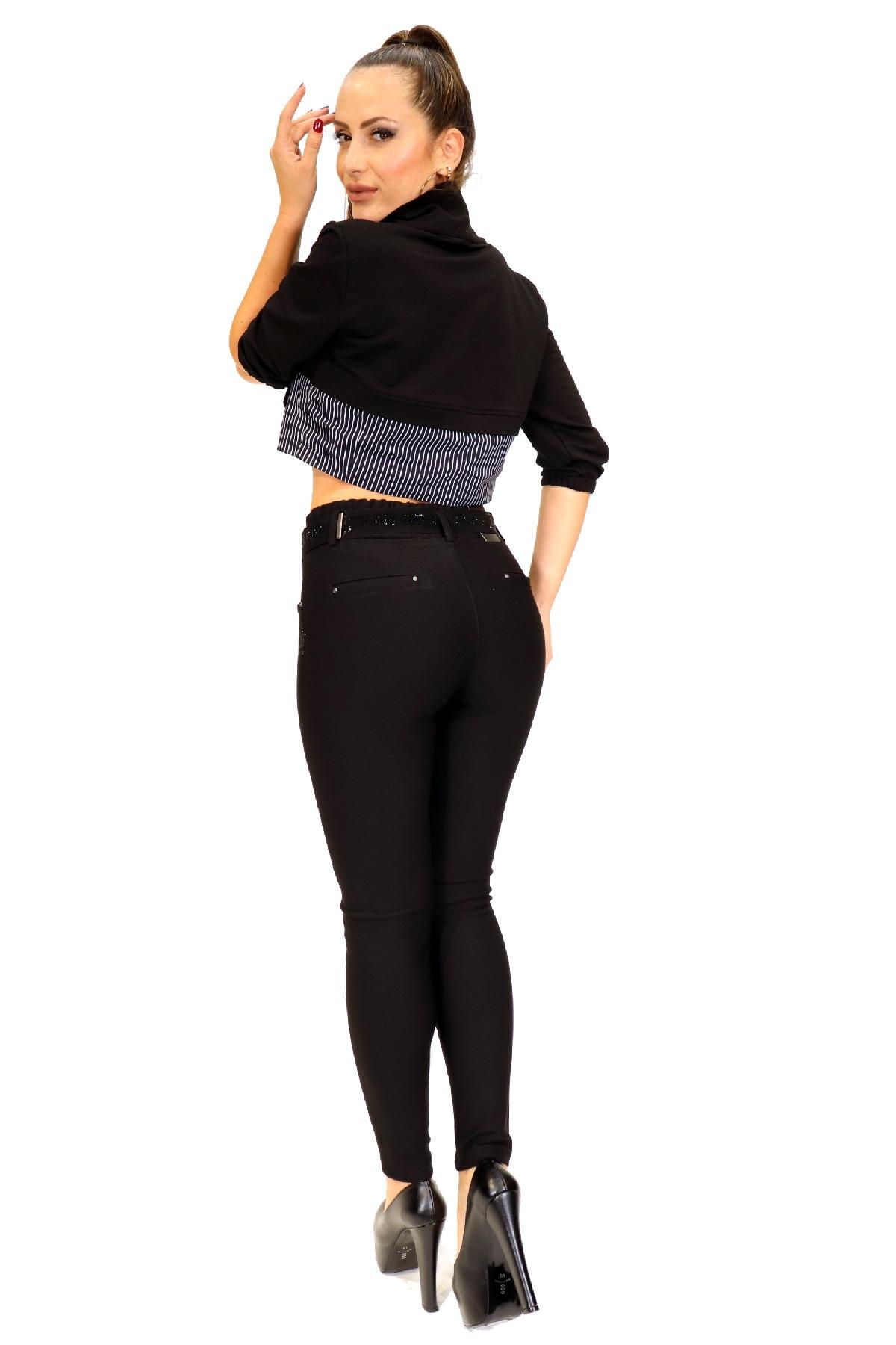 women pants-Black