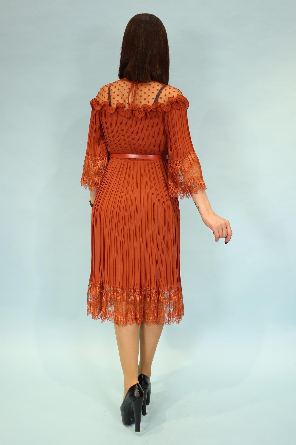 Day Dresses Medium-Orange