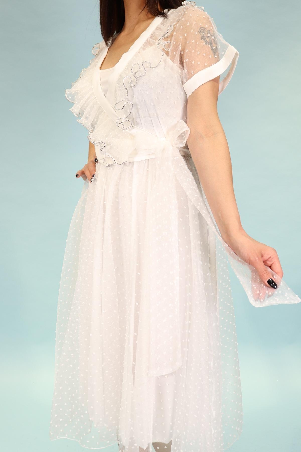 Evening Dress-White