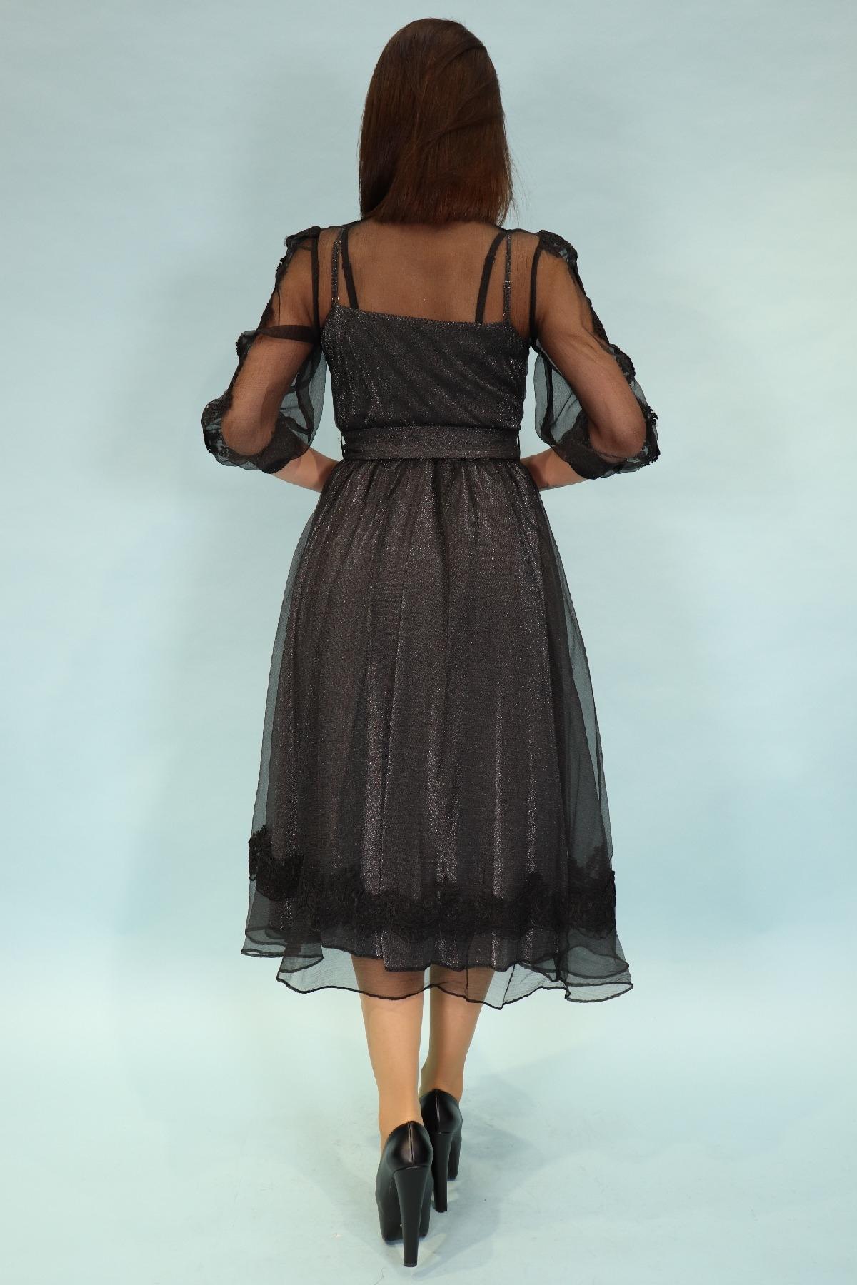 Evening Dress-Grey