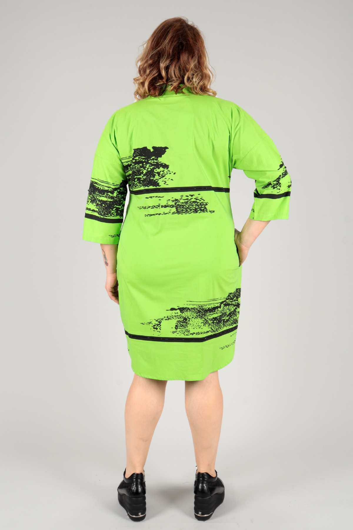 Casual Dresses-Green