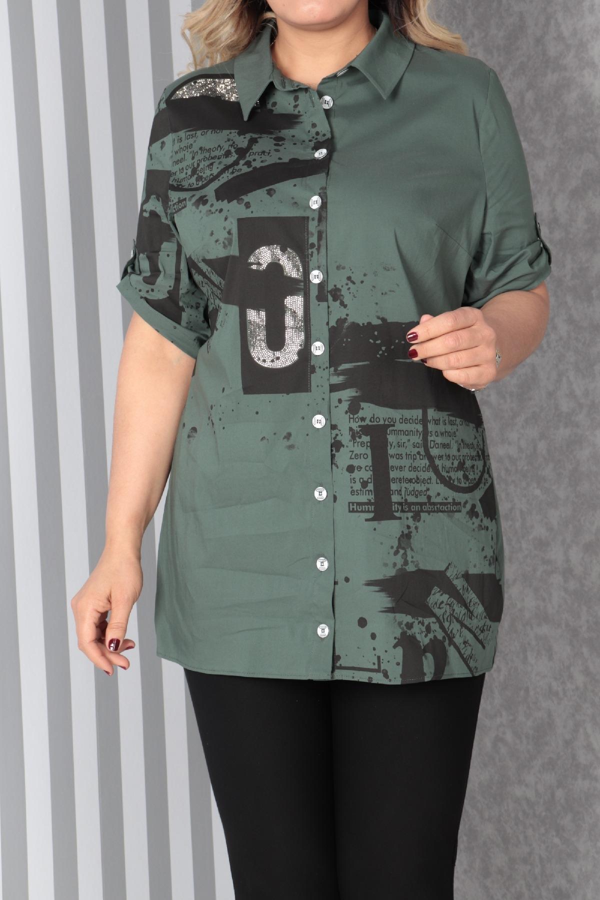 Shirt-Petrol Green