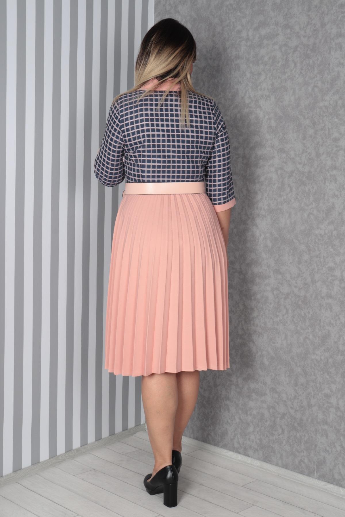 Casual Dresses-powder pink