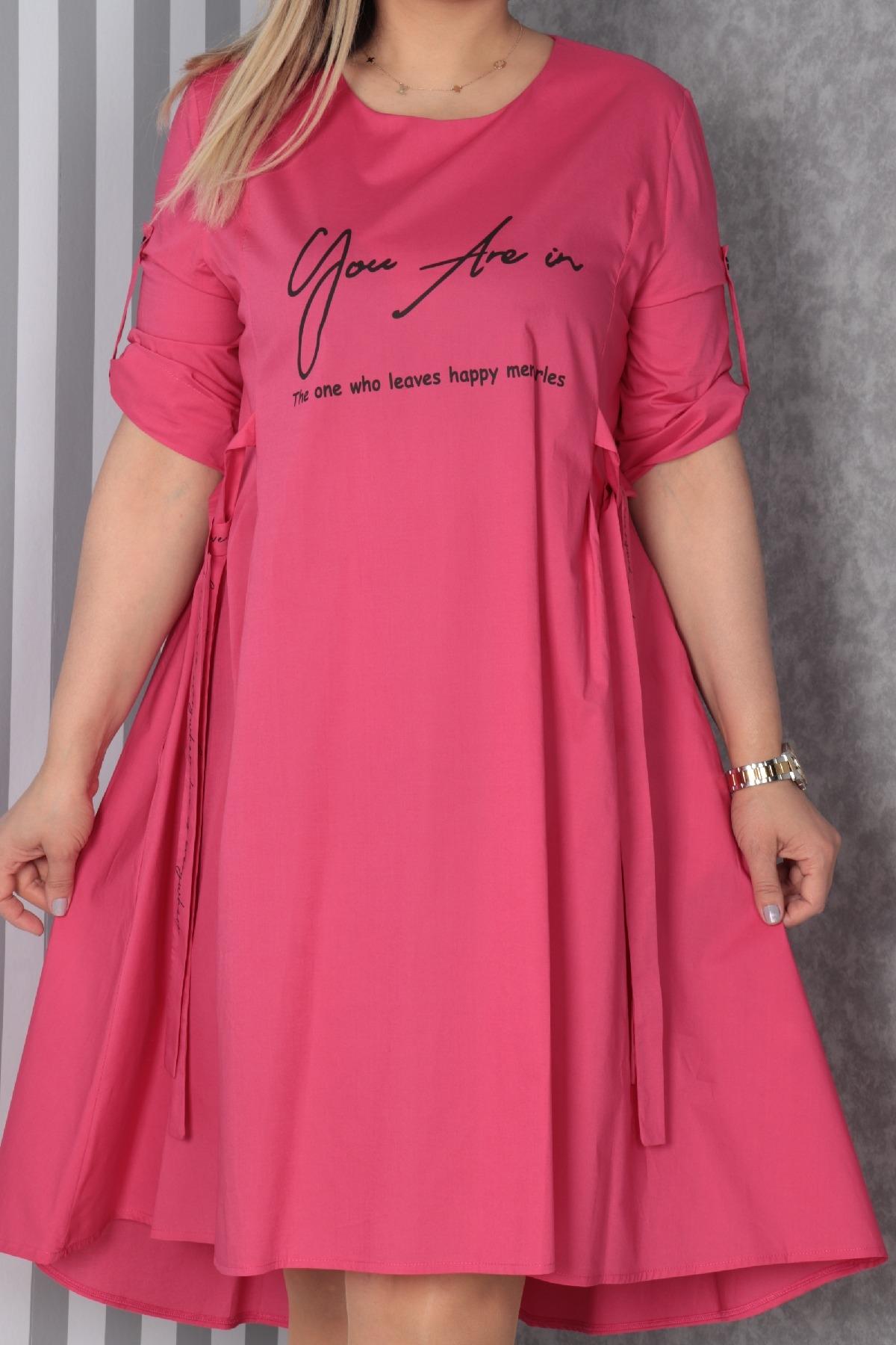 Casual Dresses-Fuchsia