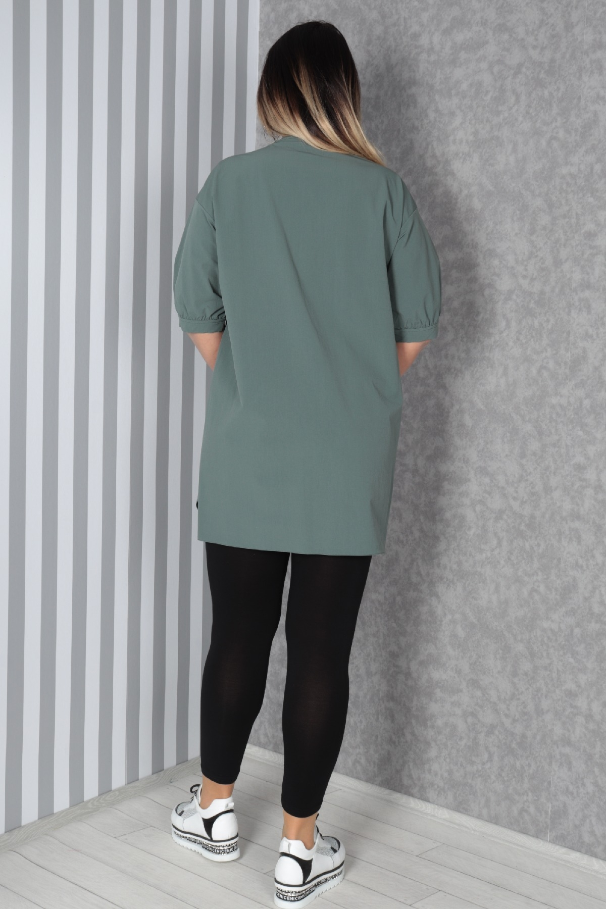 Tunics-Petrol Green