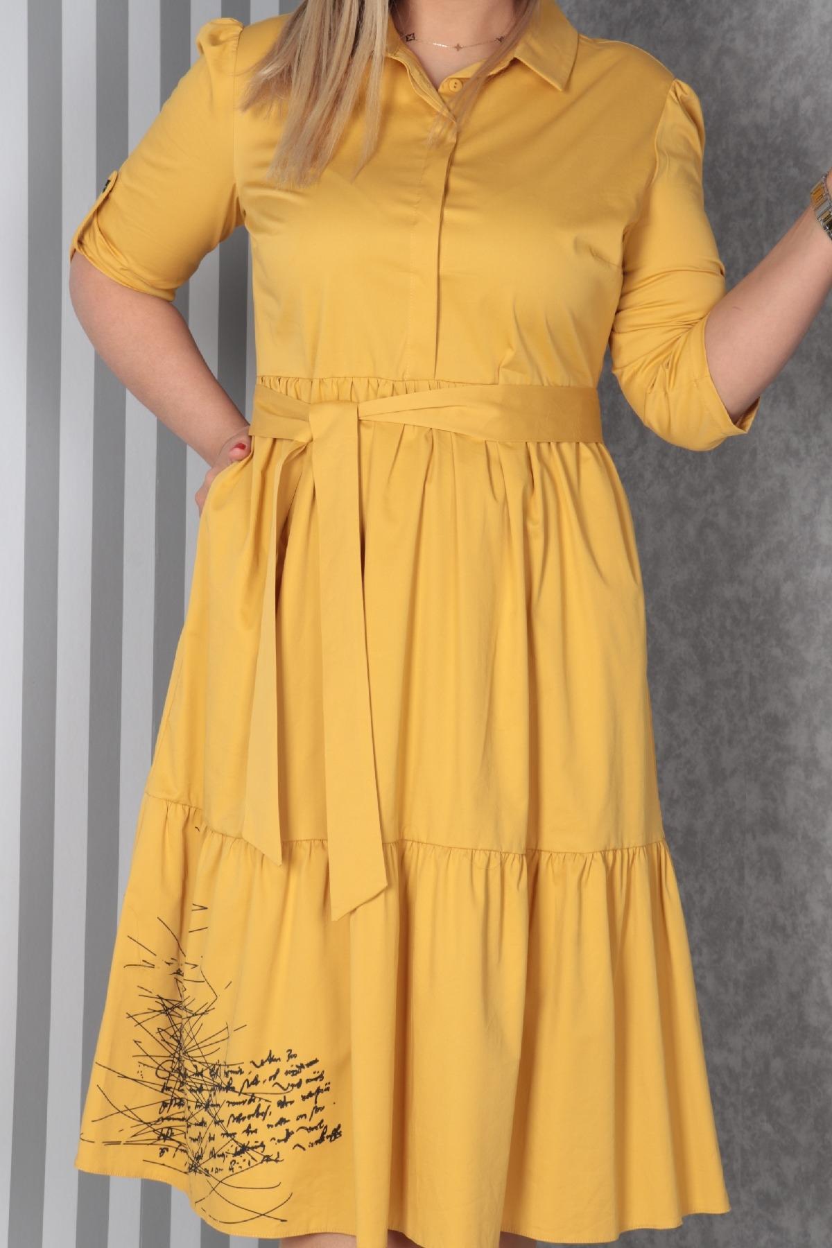 Casual Long Dresses-Indigo