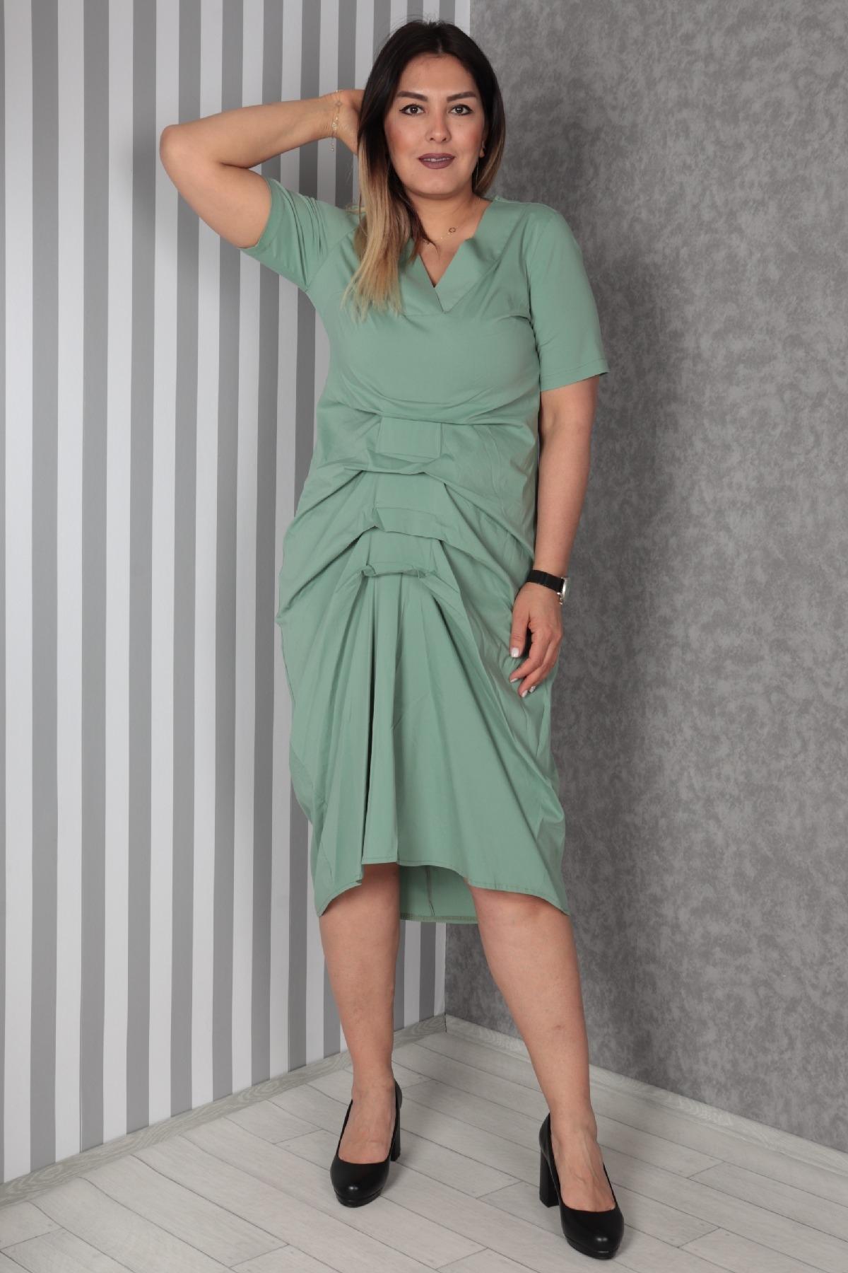 Casual Dresses-Petrol Blue